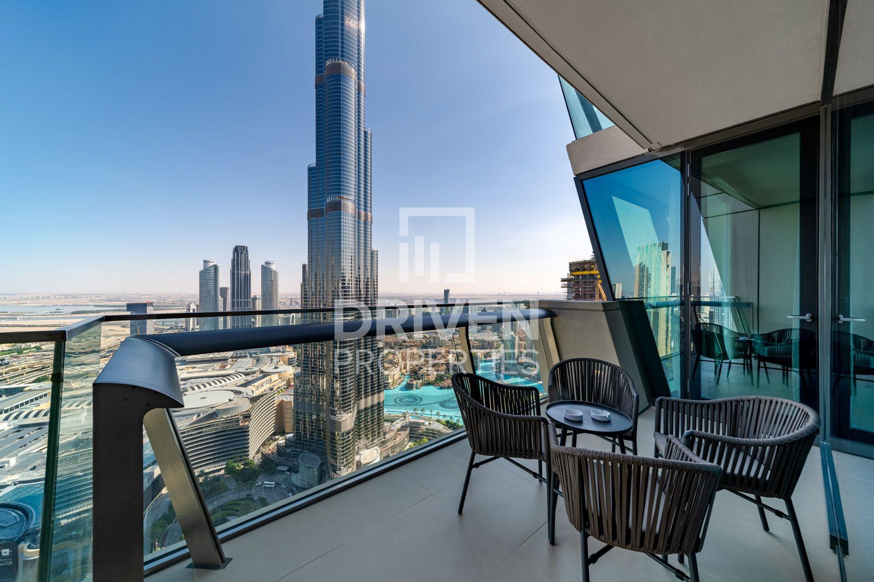 Best Burj Khalifa Fountain View, Furnished