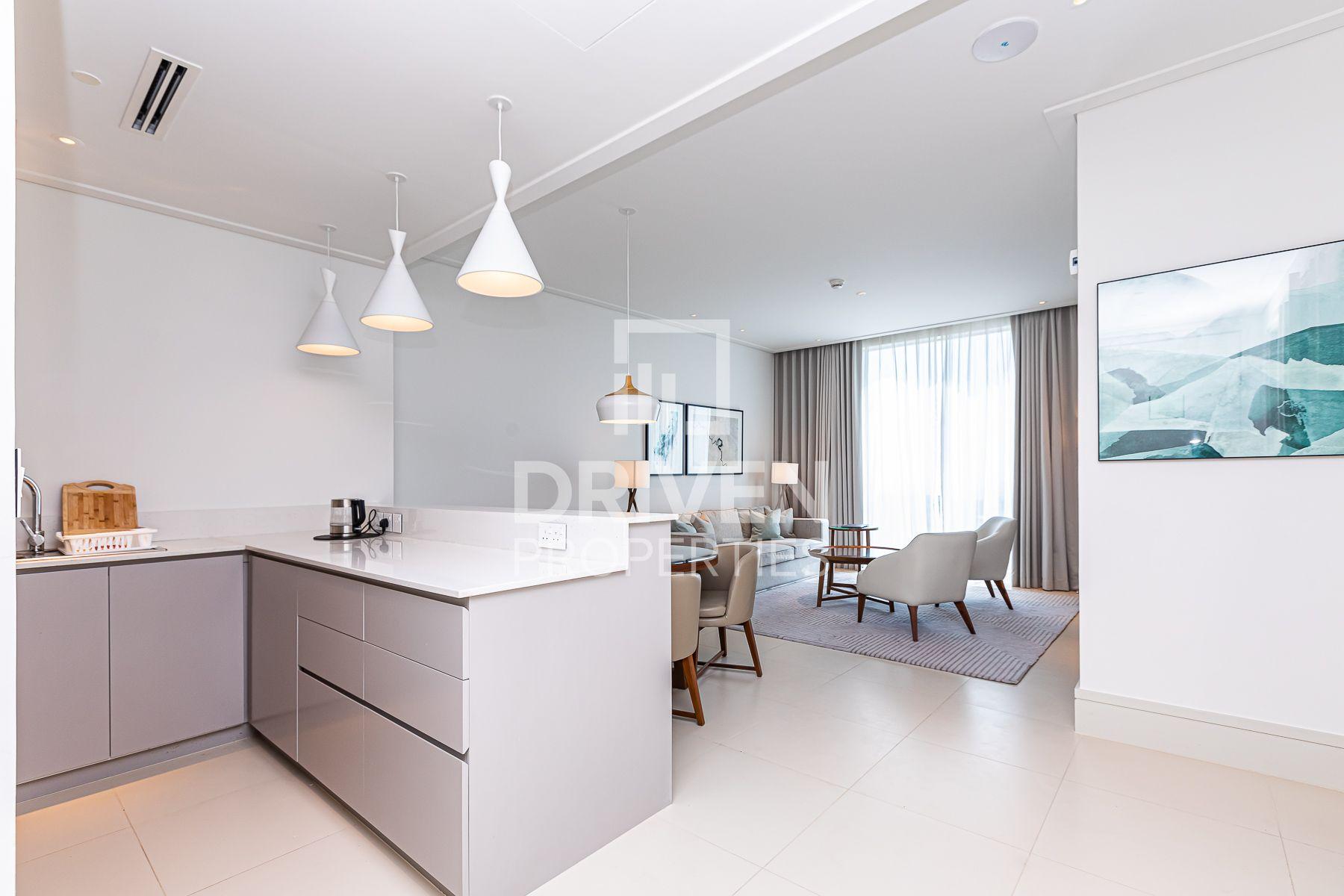 High Floor | Fully Furnished 1 Bedroom Apt