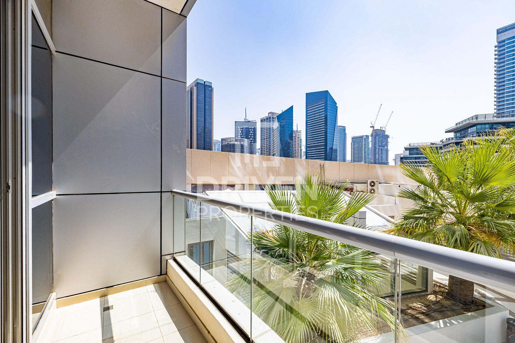 للايجار - شقة - البرج الاوسط - دبي مارينا