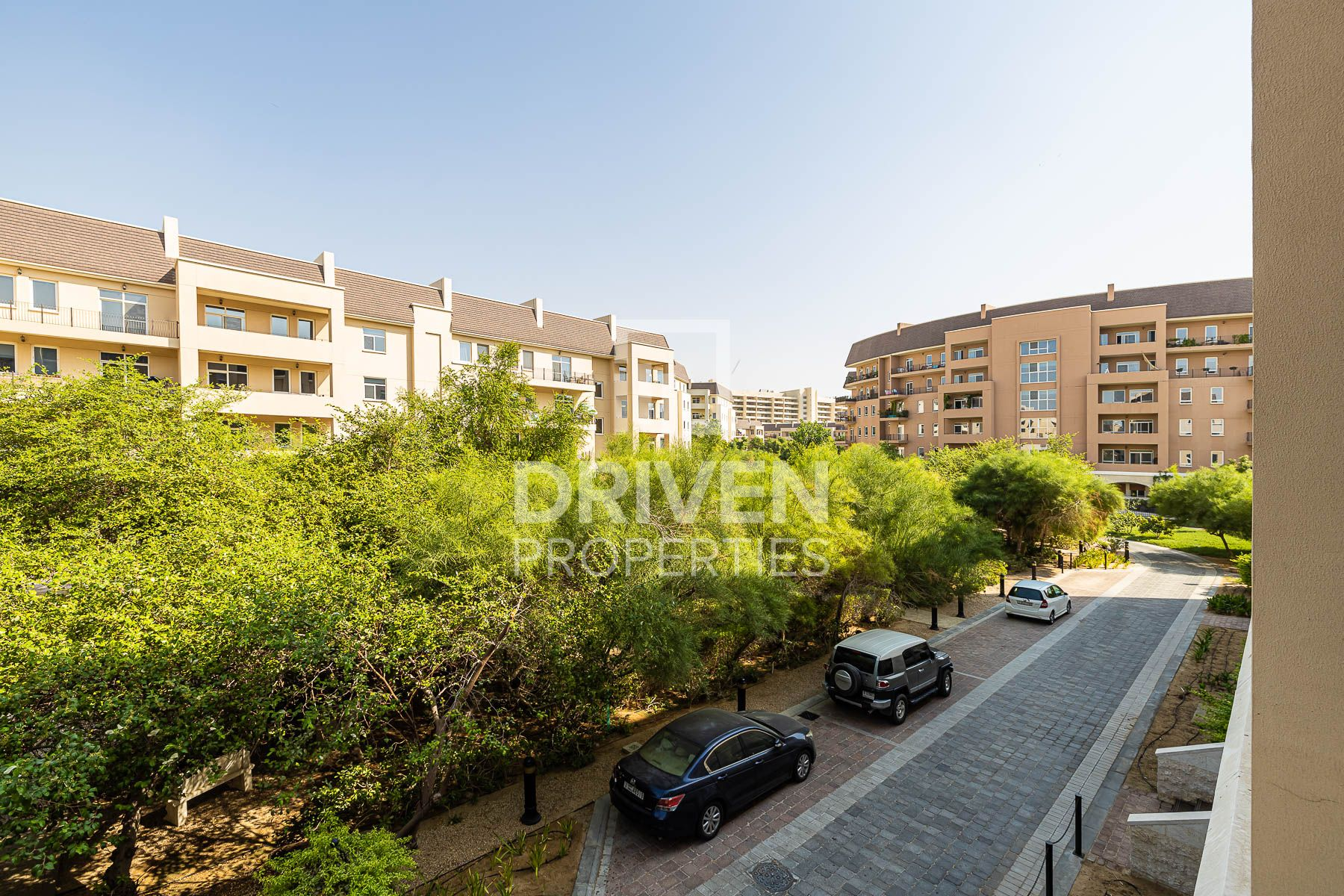 Courtyard and Garden View | Private Balcony