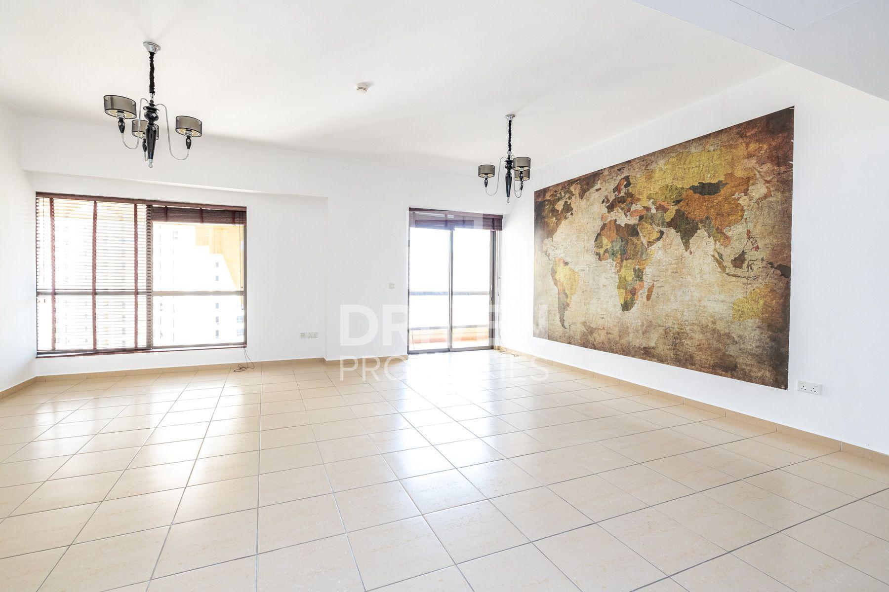 1,395 قدم مربع  شقة - للايجار - مساكن شاطئ الجميرا