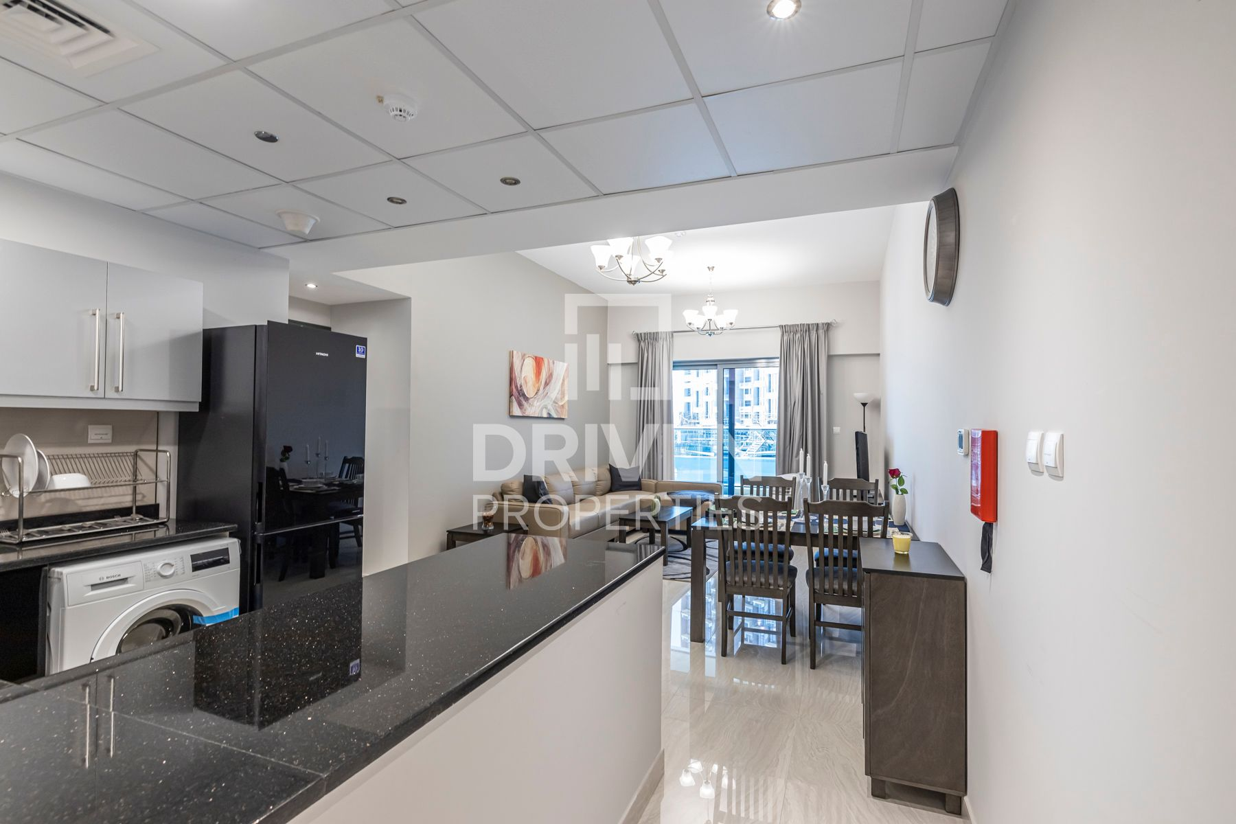 Fully Furnished unit | Partial Lake View
