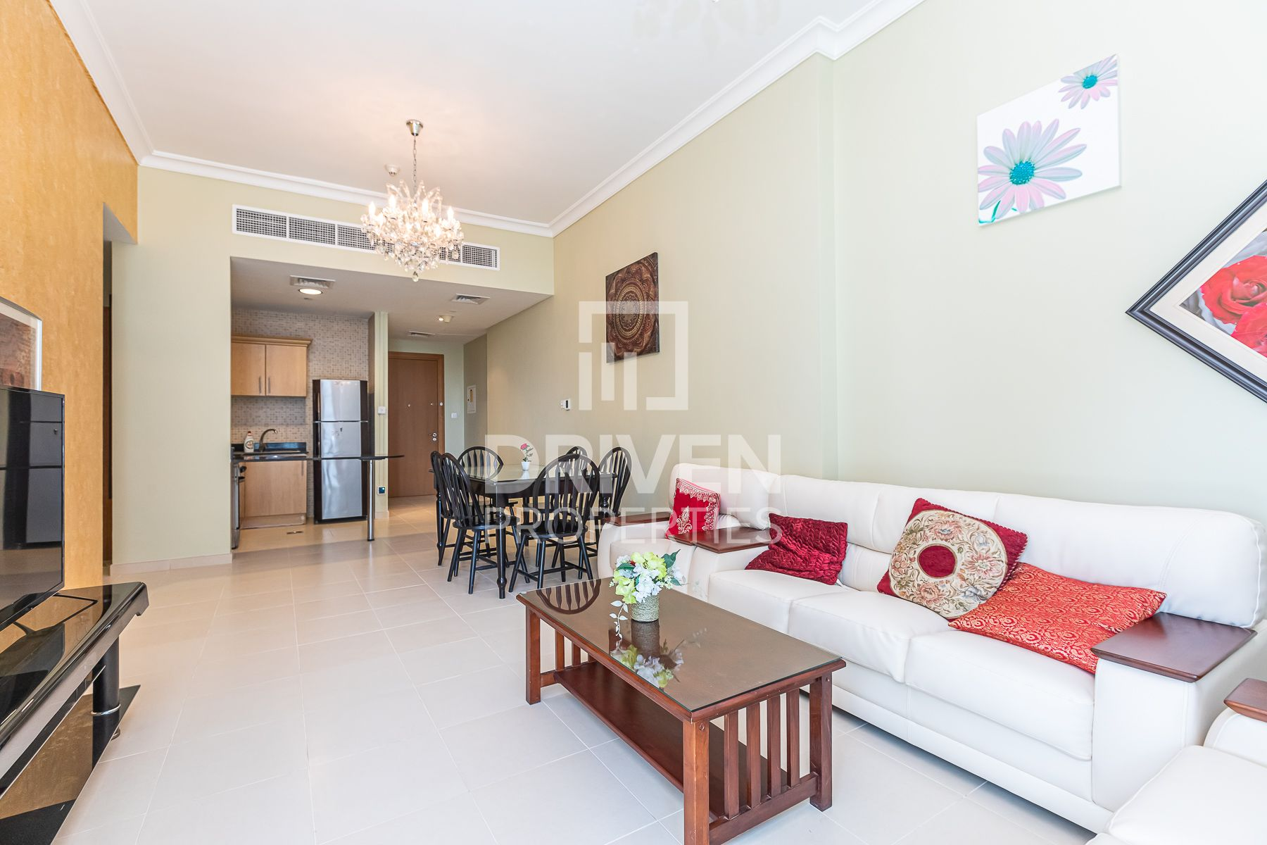Fully Furnished   Vacant    on Low Floor