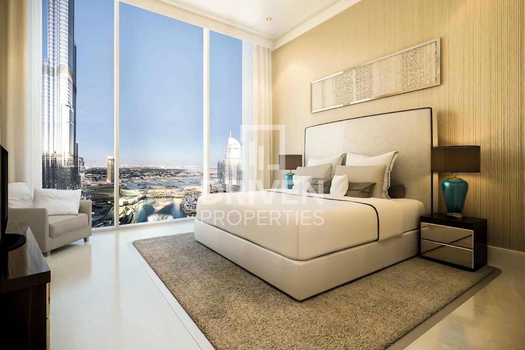 1,519 قدم مربع  شقة - للبيع - دبي وسط المدينة