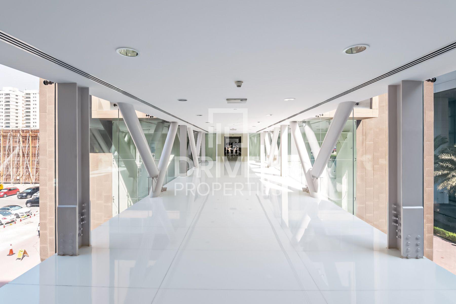8,000 قدم مربع  طابق كامل - للايجار - شارع الشيخ زايد