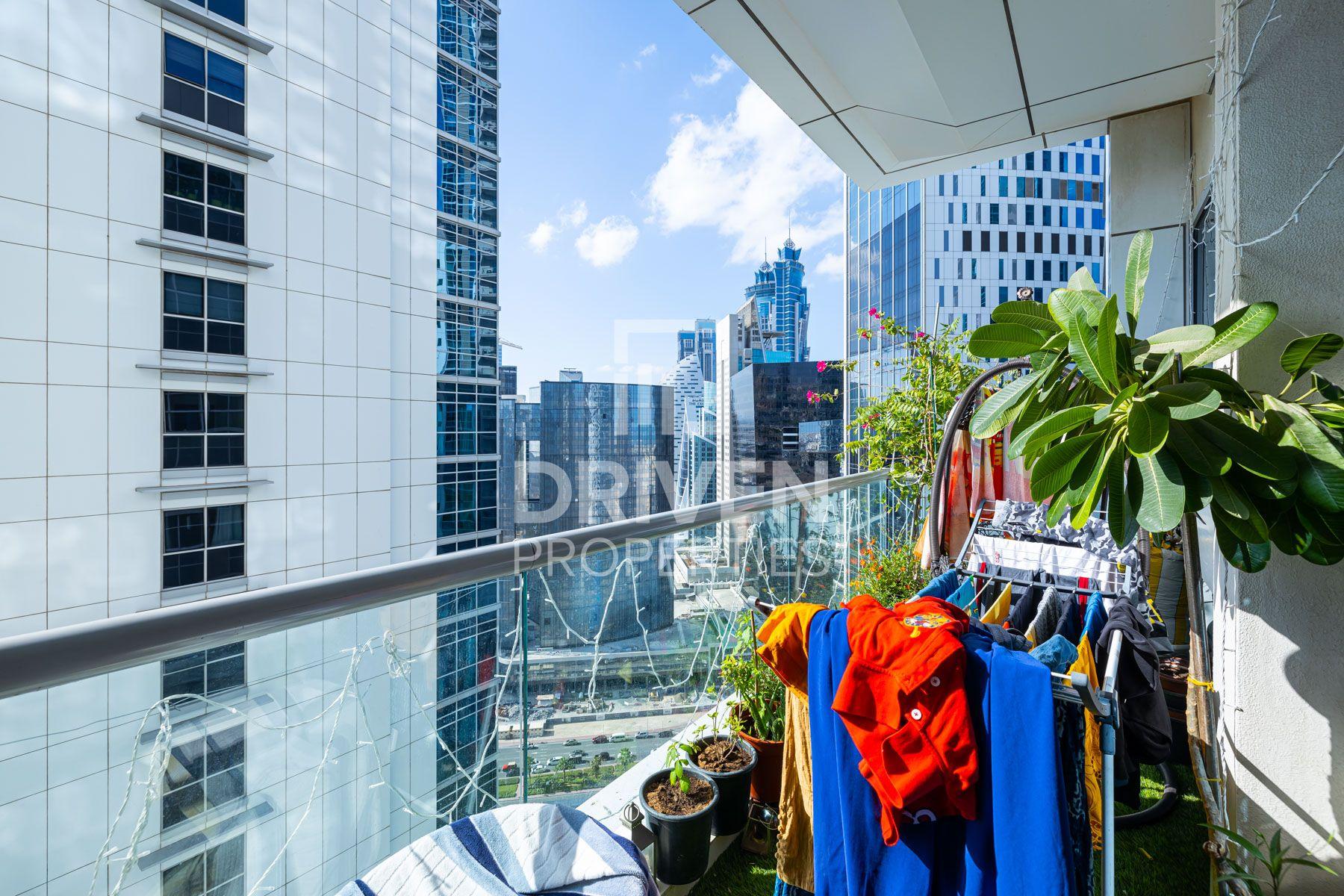 للبيع - شقة - K برج - الخليج التجاري