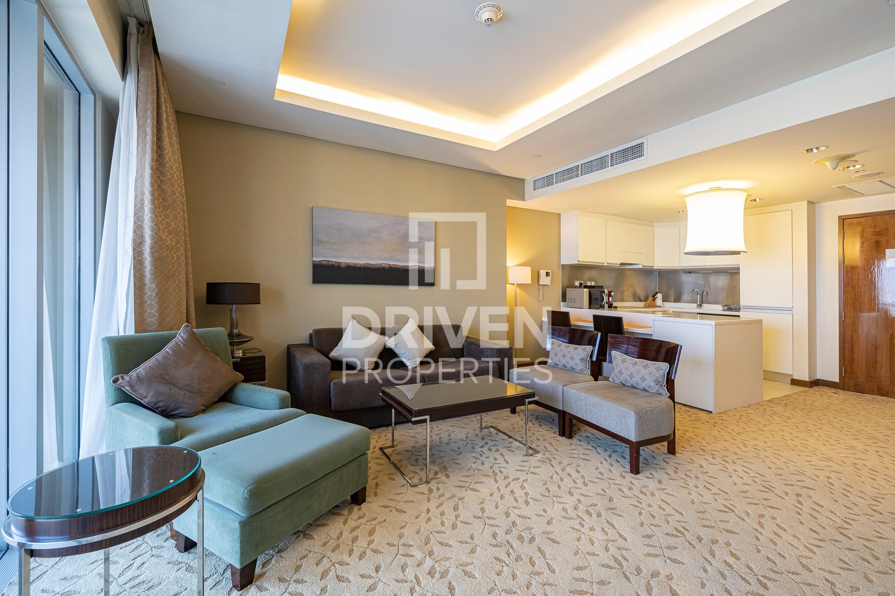 للايجار - شقة - فندق العنوان داونتاون - دبي وسط المدينة