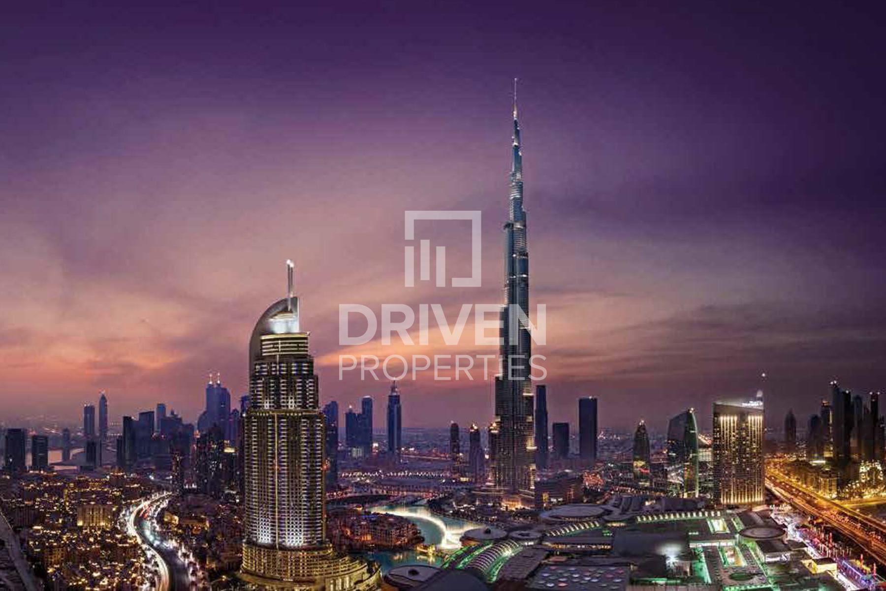 1,164 قدم مربع  شقة - للبيع - ميناء خور دبي