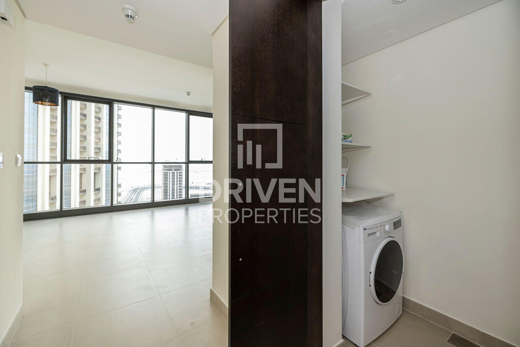 1,021 قدم مربع  شقة - للايجار - ميناء خور دبي