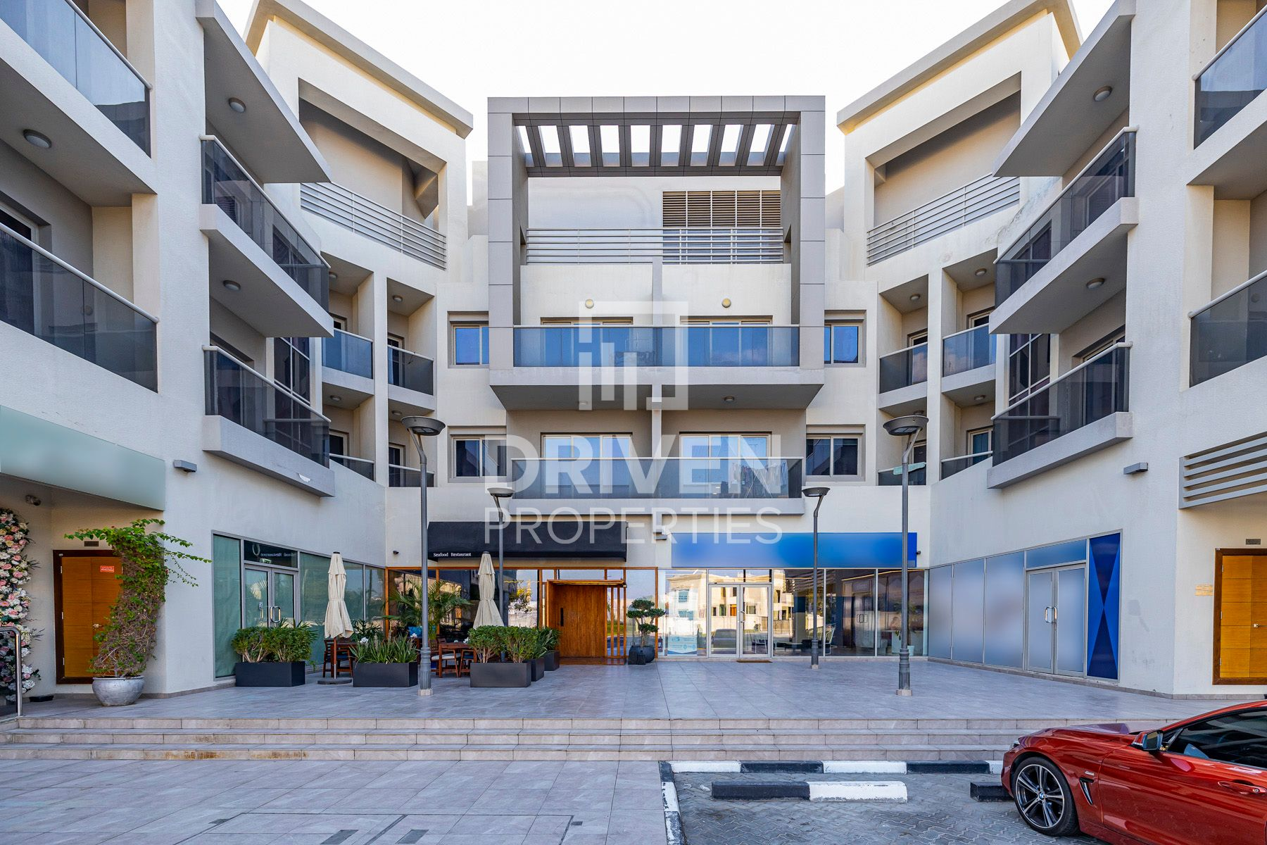 Courtyard Retail | Shell and Core Options