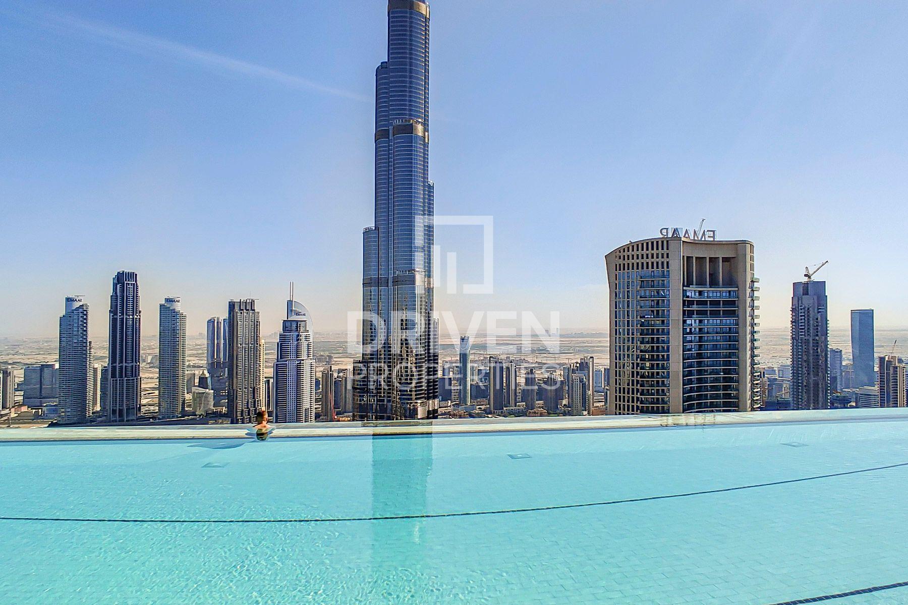 Beautiful | Full Burj Khalifa and Sea View
