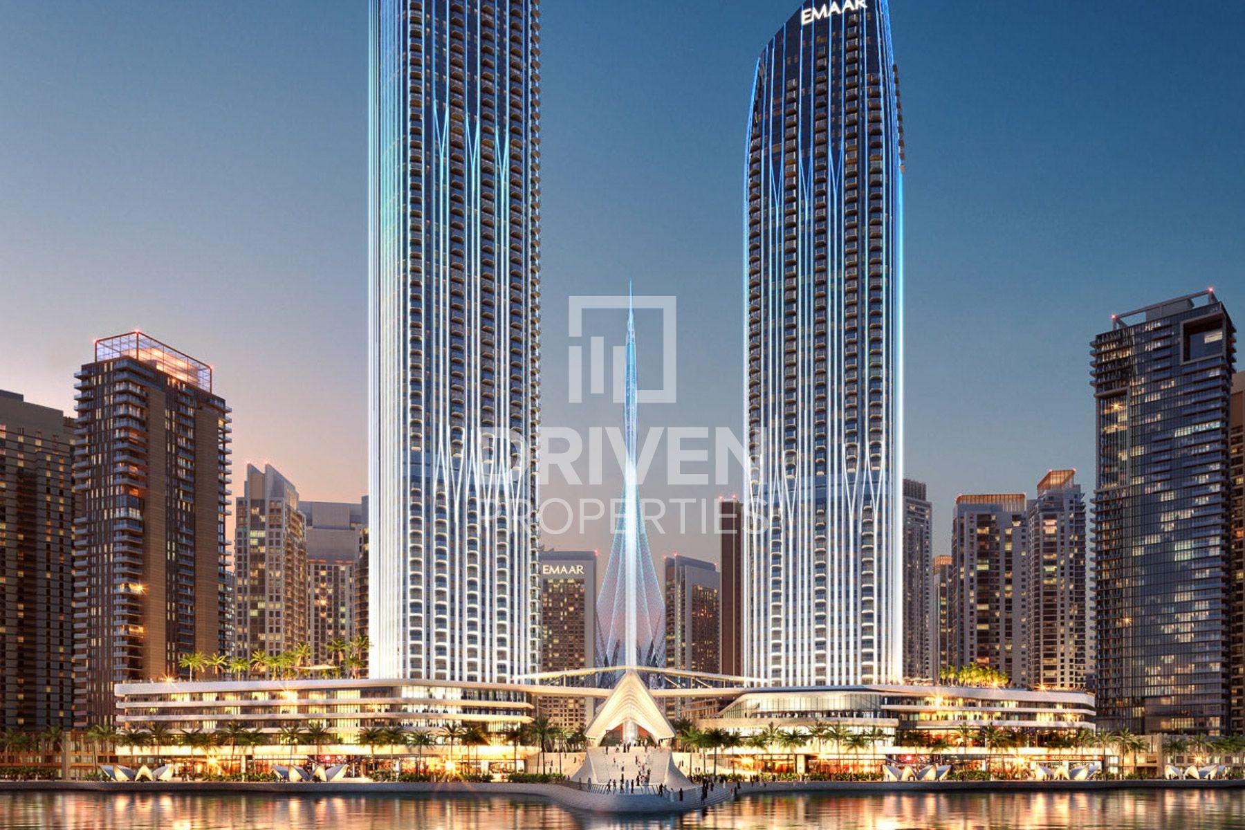 1,415 قدم مربع  شقة - للبيع - ميناء خور دبي