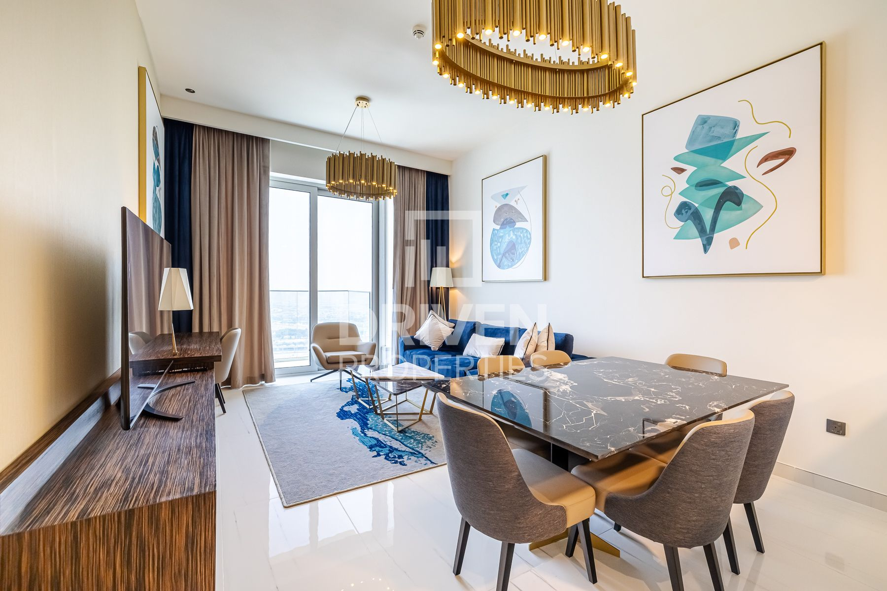Panoramic Views | High Floor | Furnished