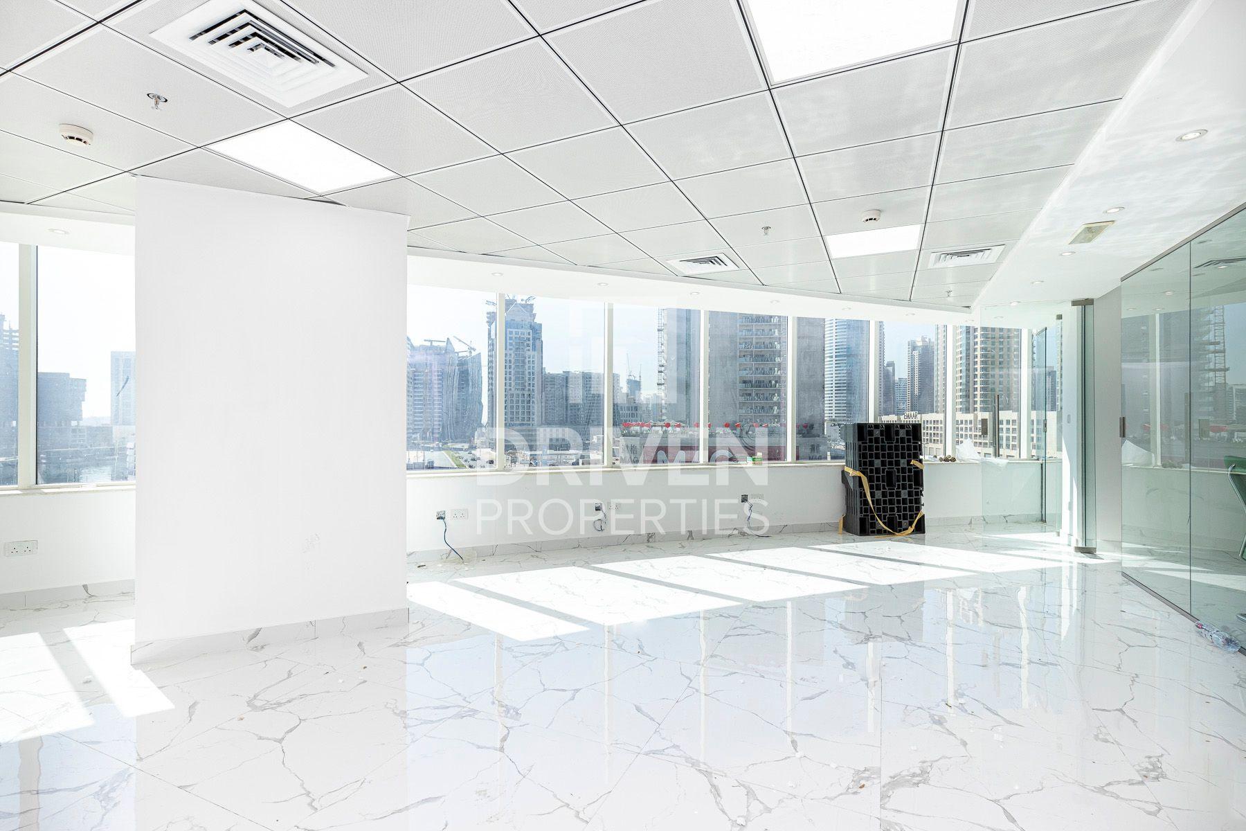للايجار - مكتب - مرتفعات إمباير 1 - الخليج التجاري