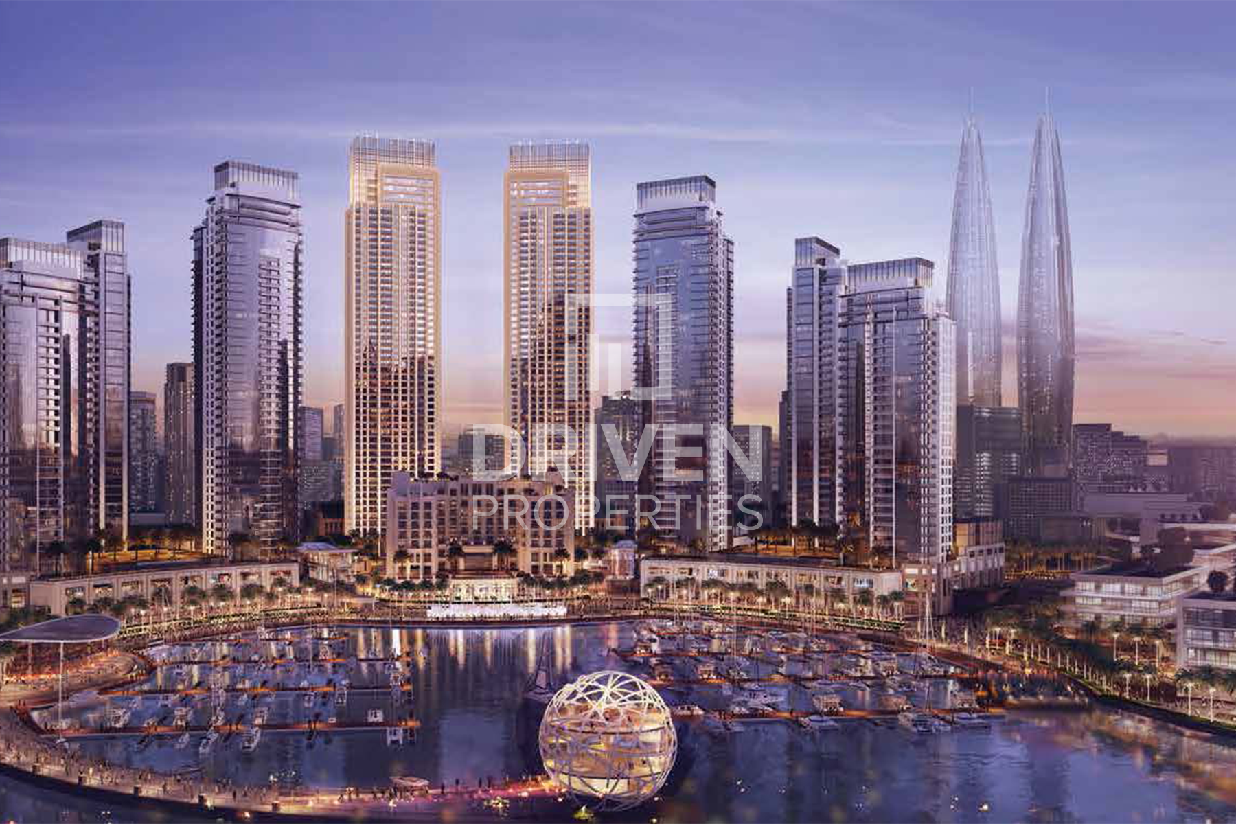 Apartment for Sale in Harbour Views 1 - Dubai Creek Harbour