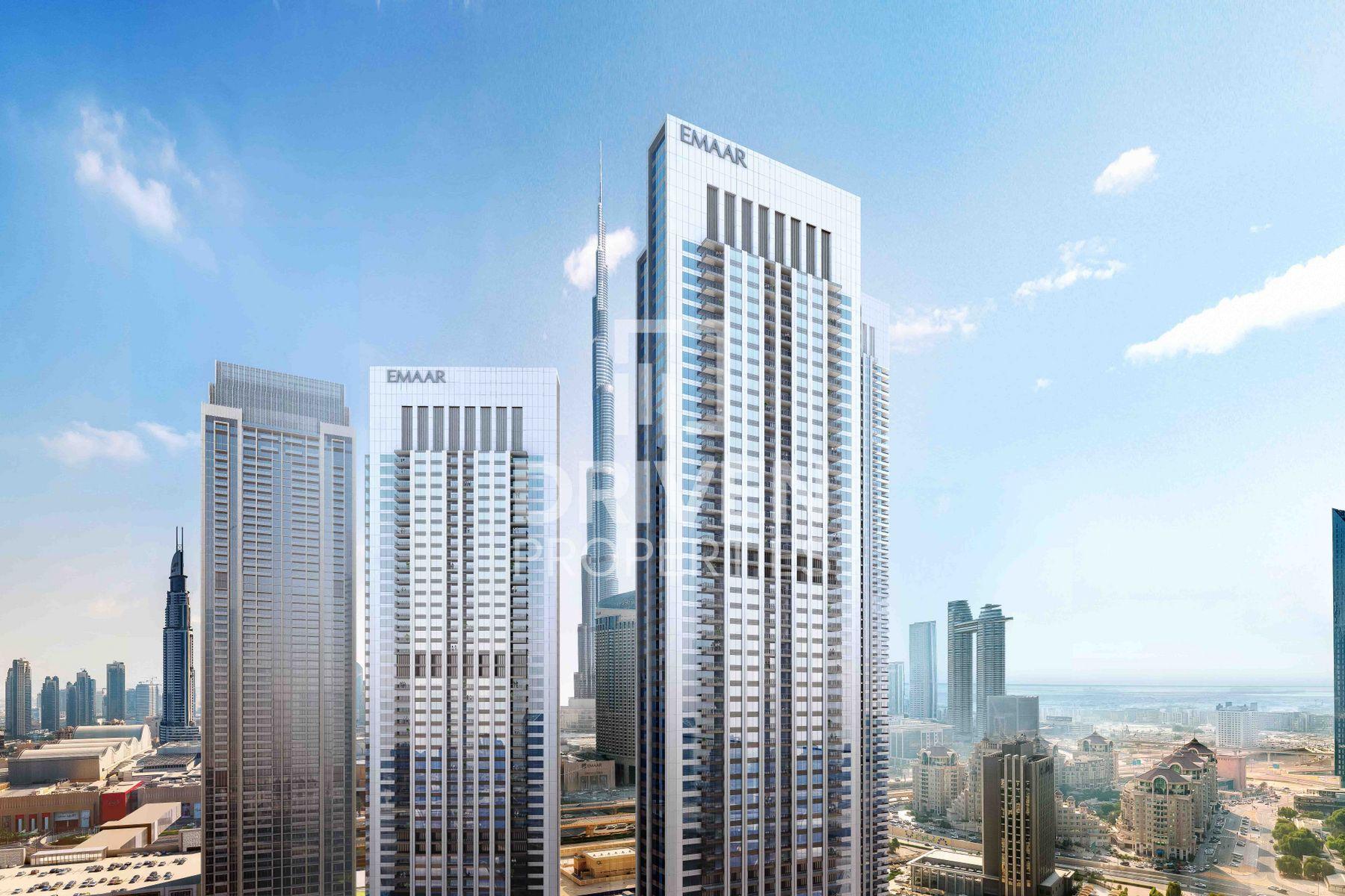 للبيع - شقة - II داون تاون فيوز - دبي وسط المدينة