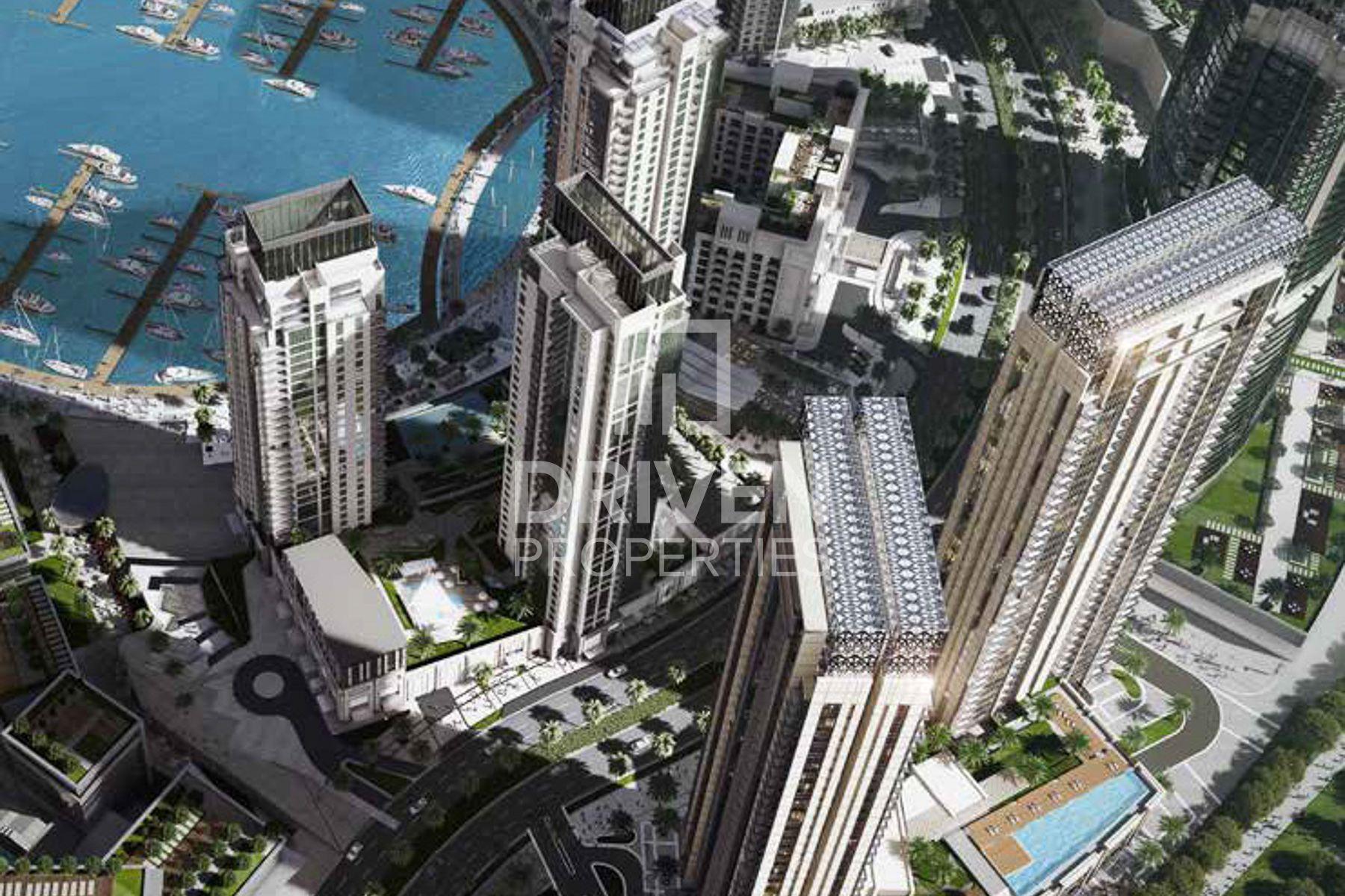 680 قدم مربع  شقة - للبيع - ميناء خور دبي