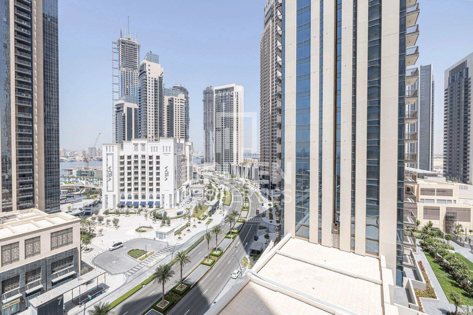 للبيع - شقة - B كريك سايد 18 - ميناء خور دبي
