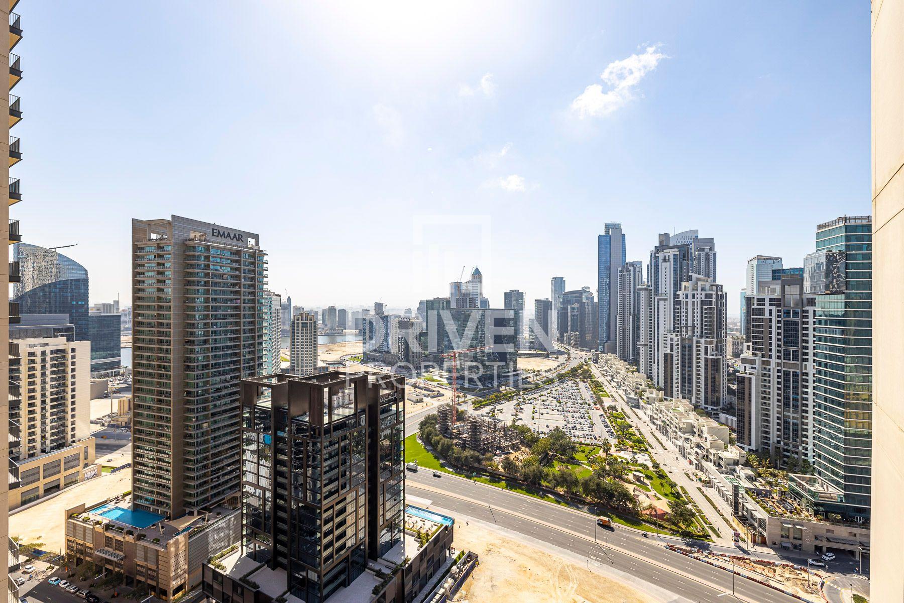 للايجار - شقة - مرتفعات بوليفارد برج 2 - دبي وسط المدينة