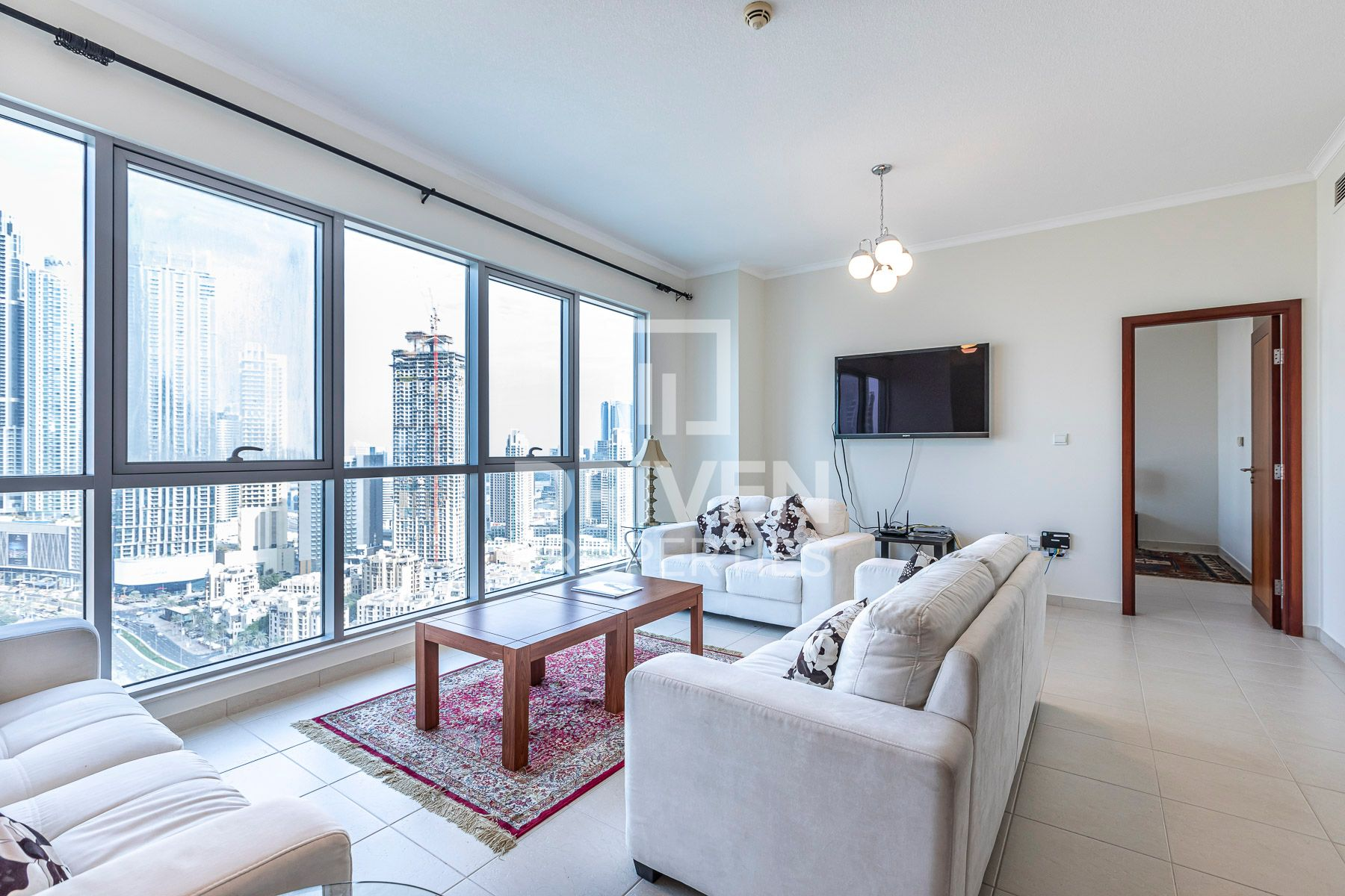 Fully Furnished   Burj View   Maids Room