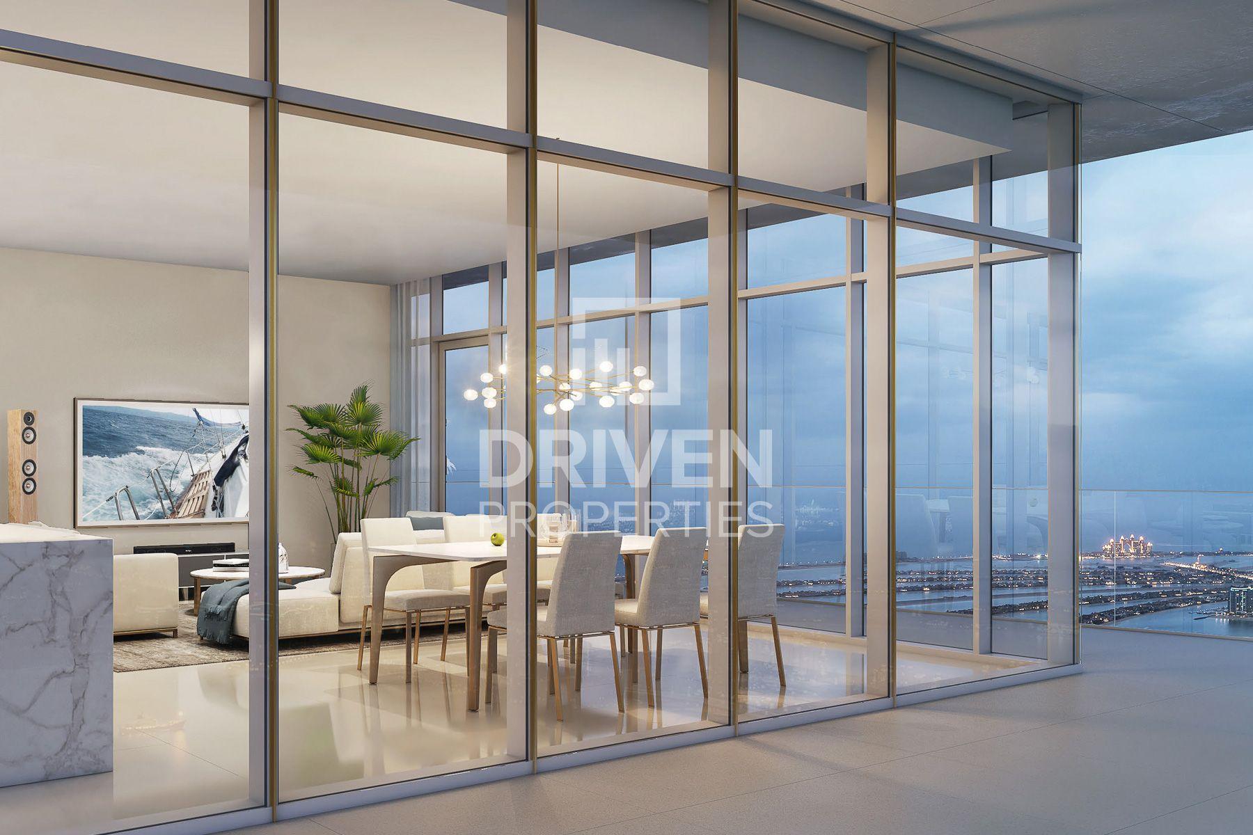 للبيع - شقة - بيتش فيستا - دبي هاربور