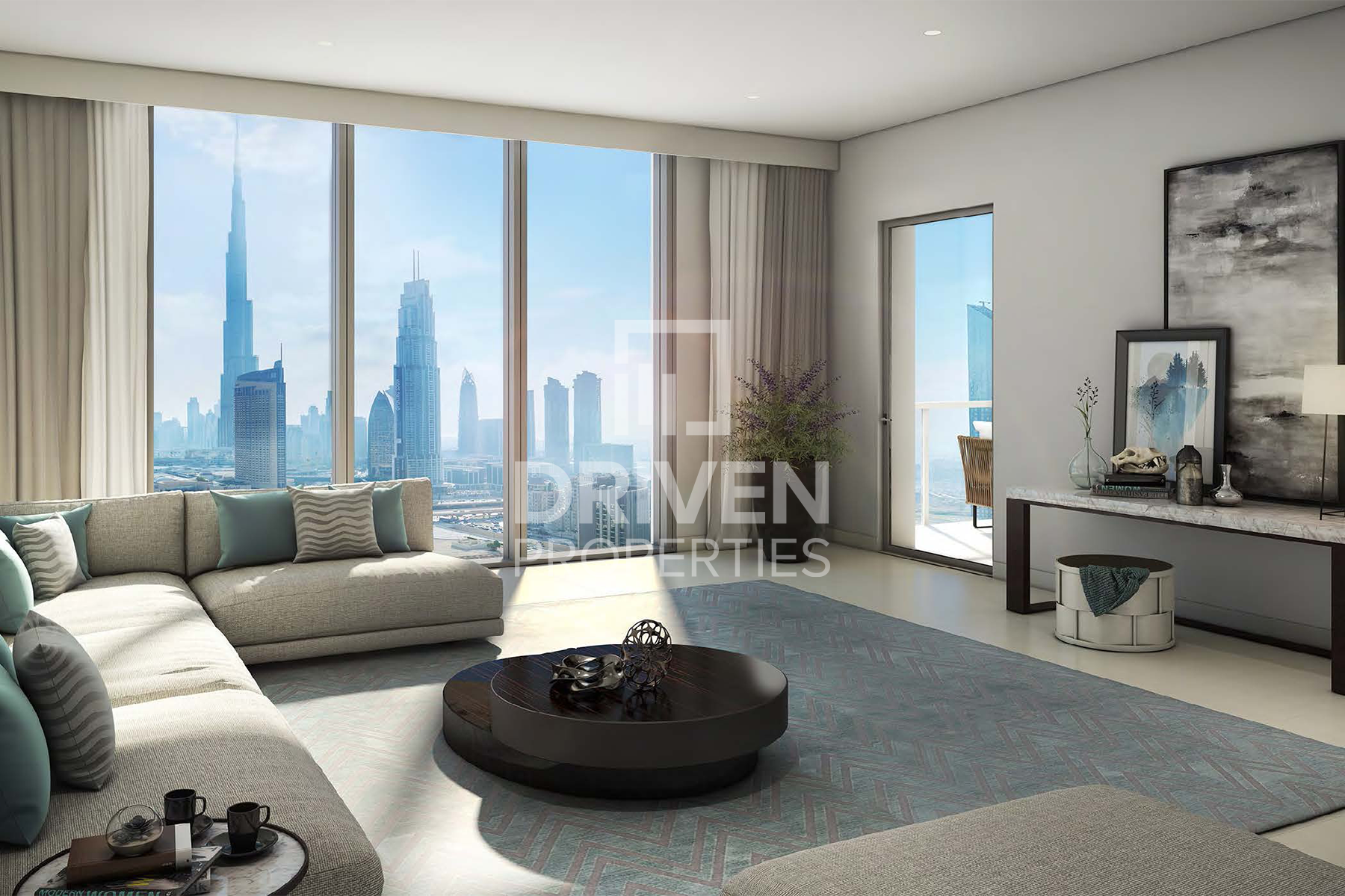 Full Burj Khalifa view | Fully Furnished