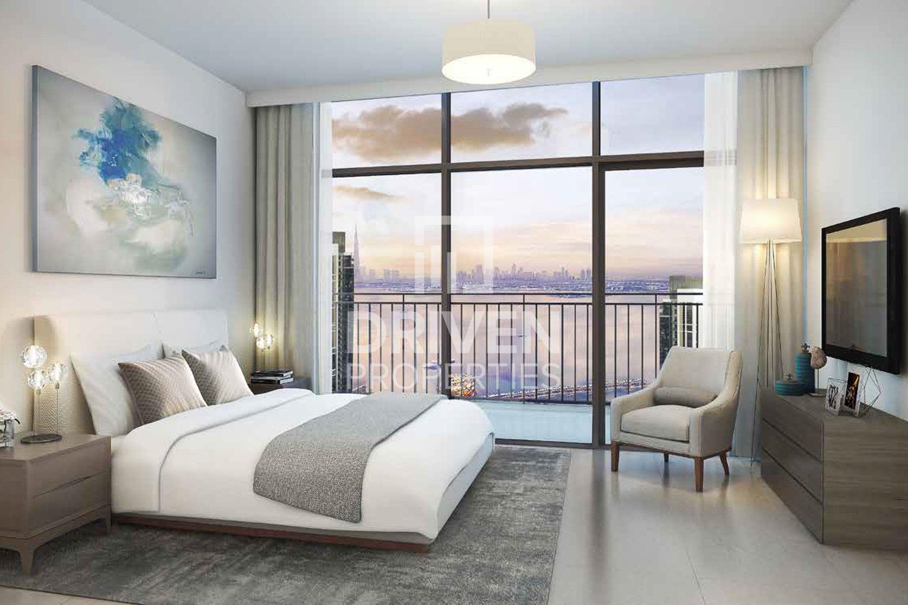 1,610 قدم مربع  شقة - للبيع - ميناء خور دبي