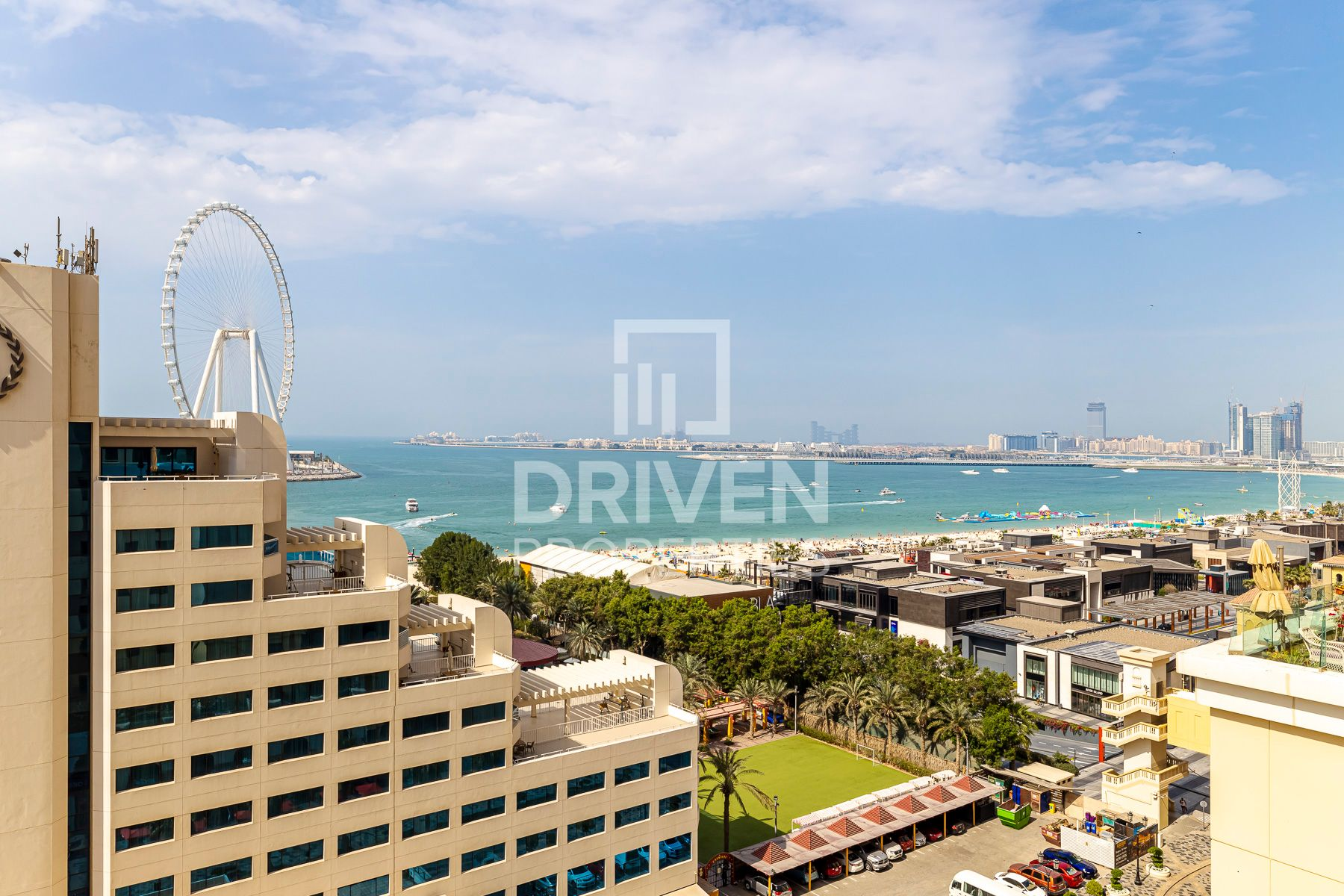 Upgraded | Dubai Eye & Palm Jumeirah View