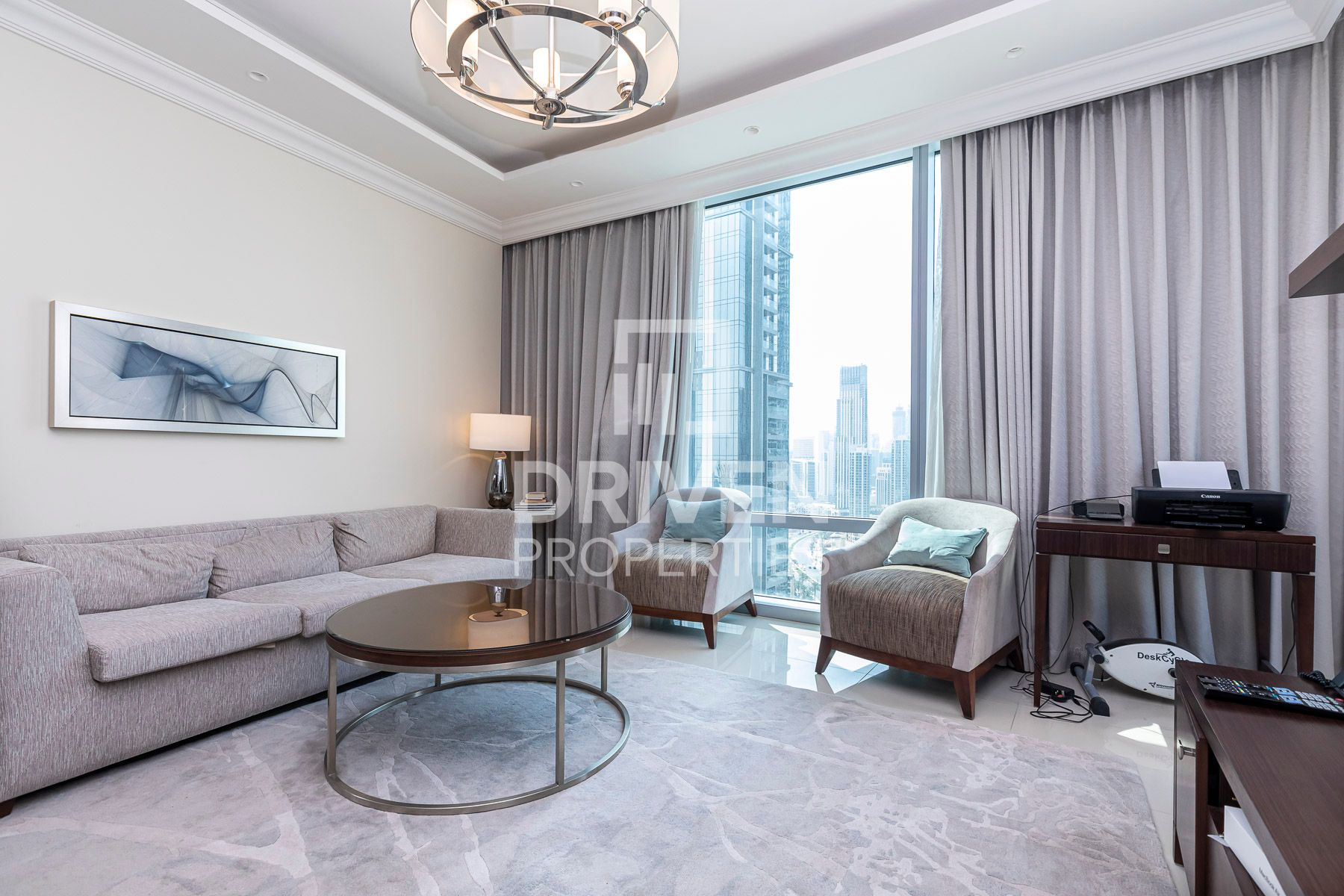 Burj and Fountain view | Fully Furnished