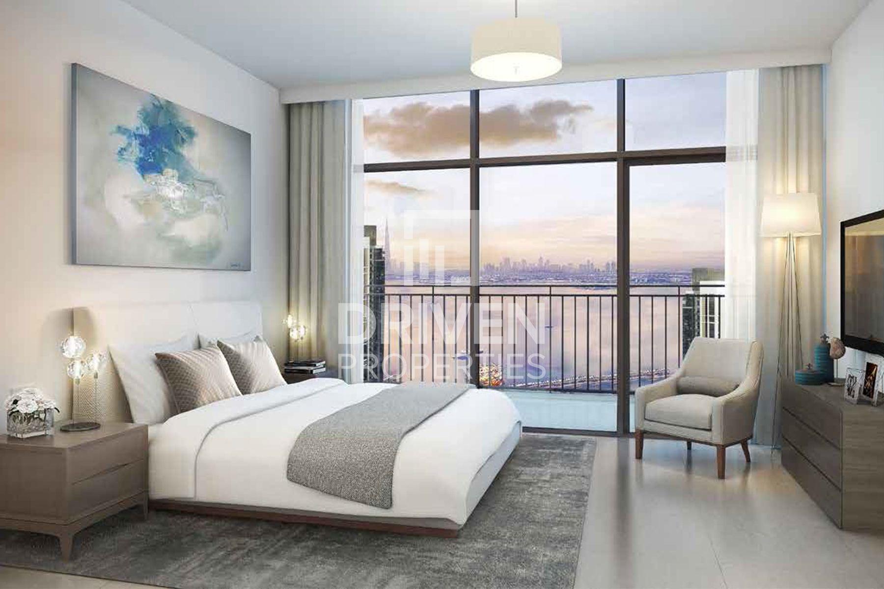1,481 قدم مربع  شقة - للبيع - ميناء خور دبي