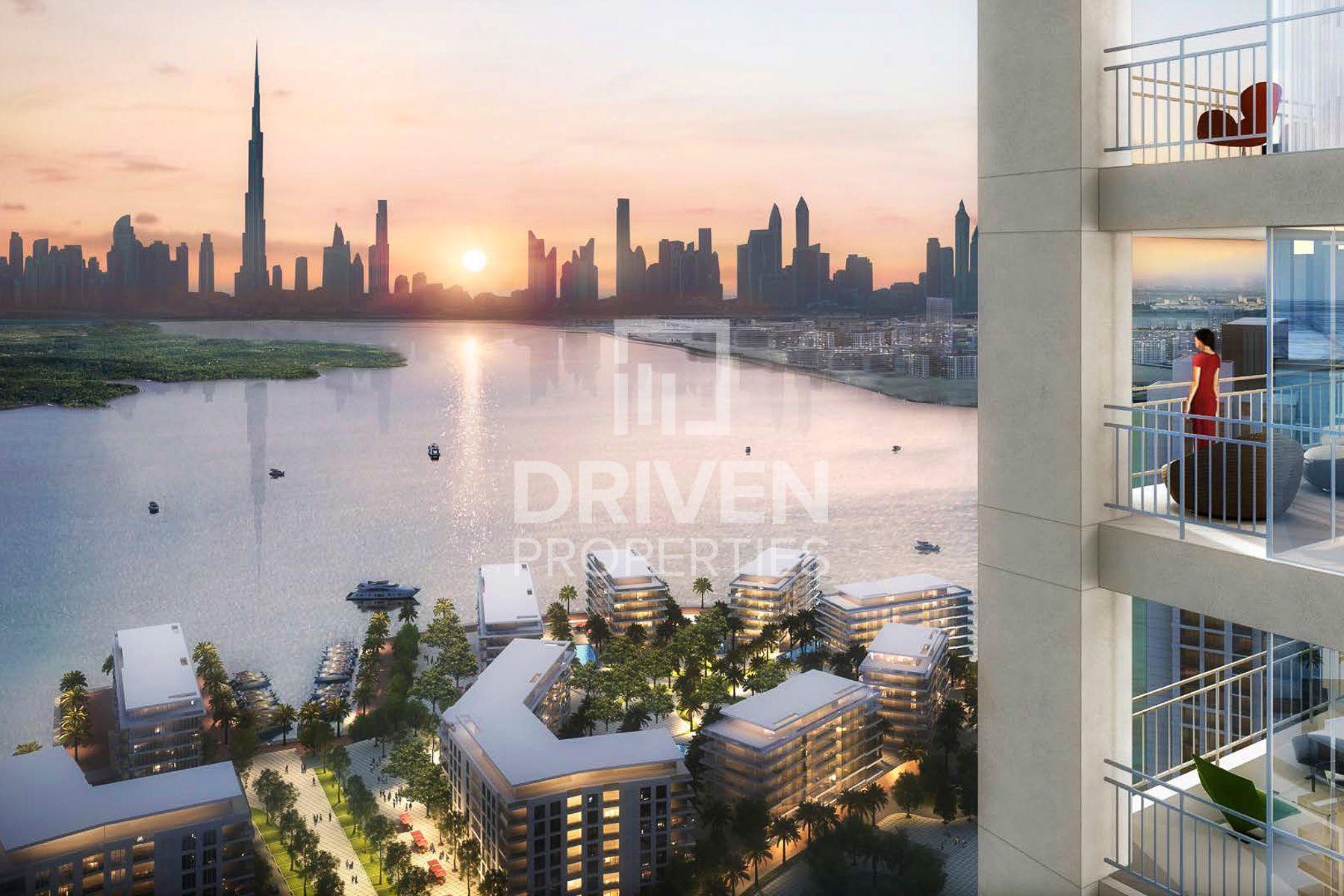 760 قدم مربع  شقة - للبيع - ميناء خور دبي
