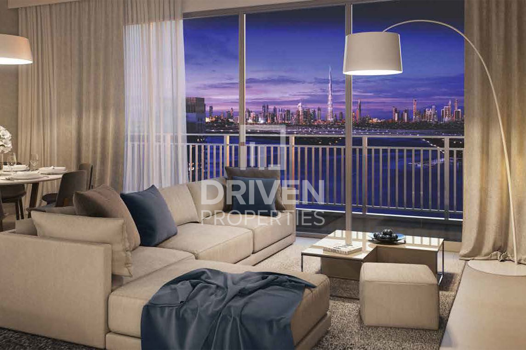 High Floor Park View | Compact Apartment