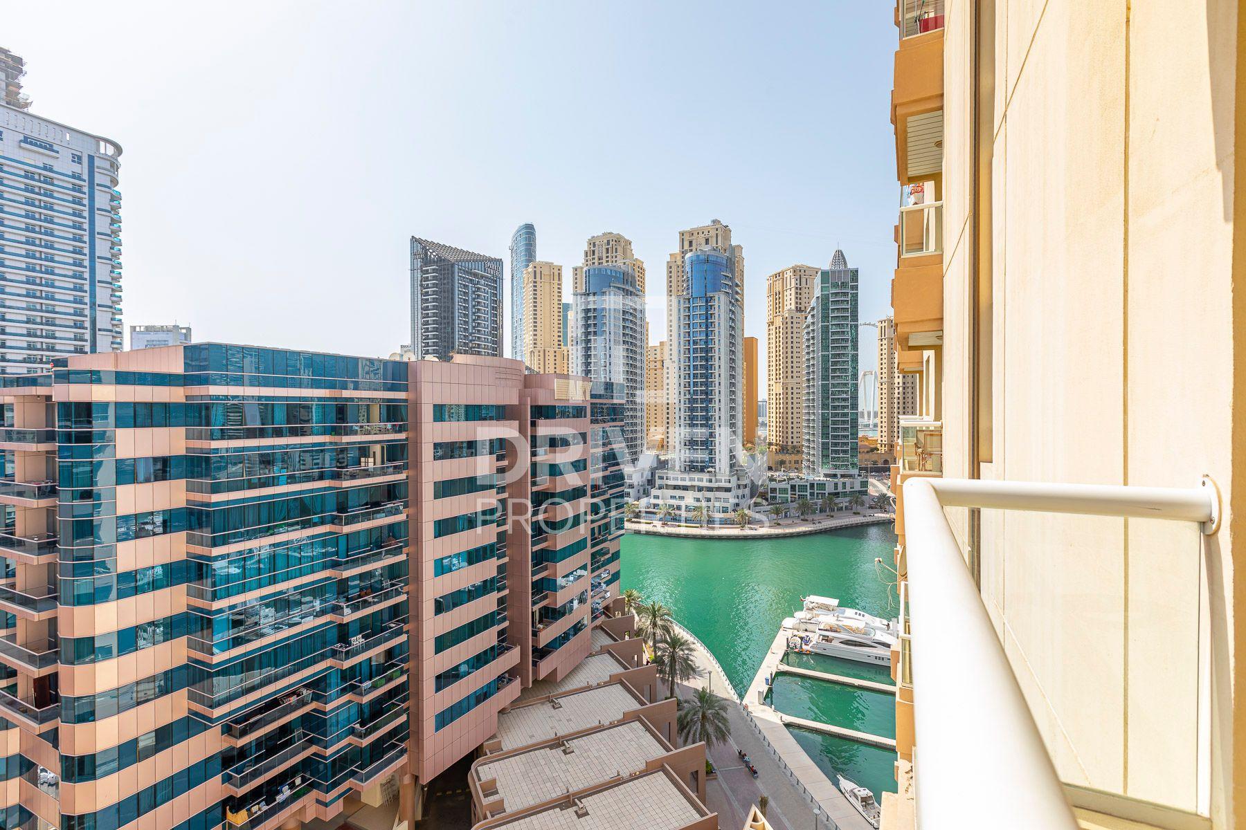 941 قدم مربع  شقة - للايجار - دبي مارينا