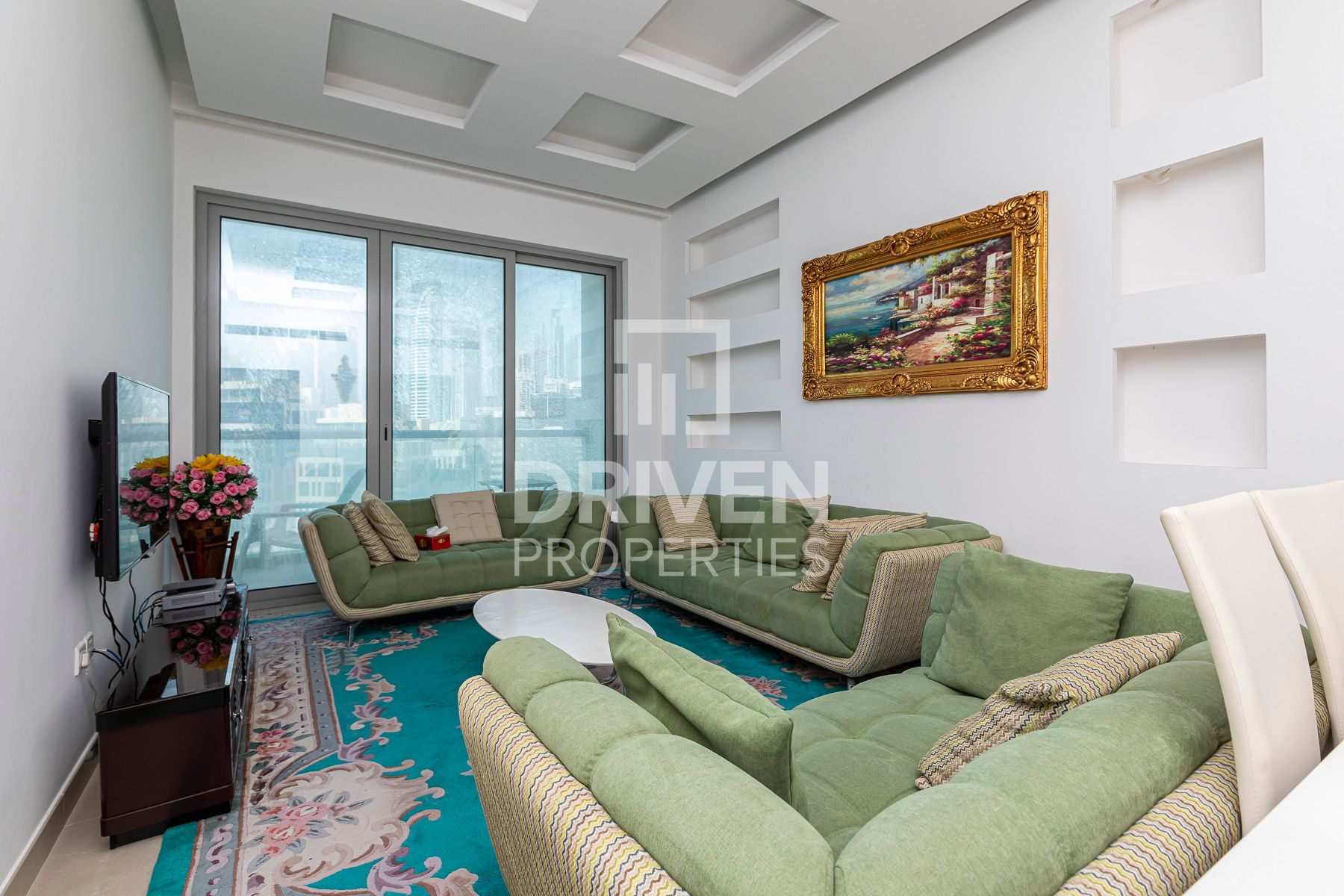 Vacant with Burj View | Modern Furniture