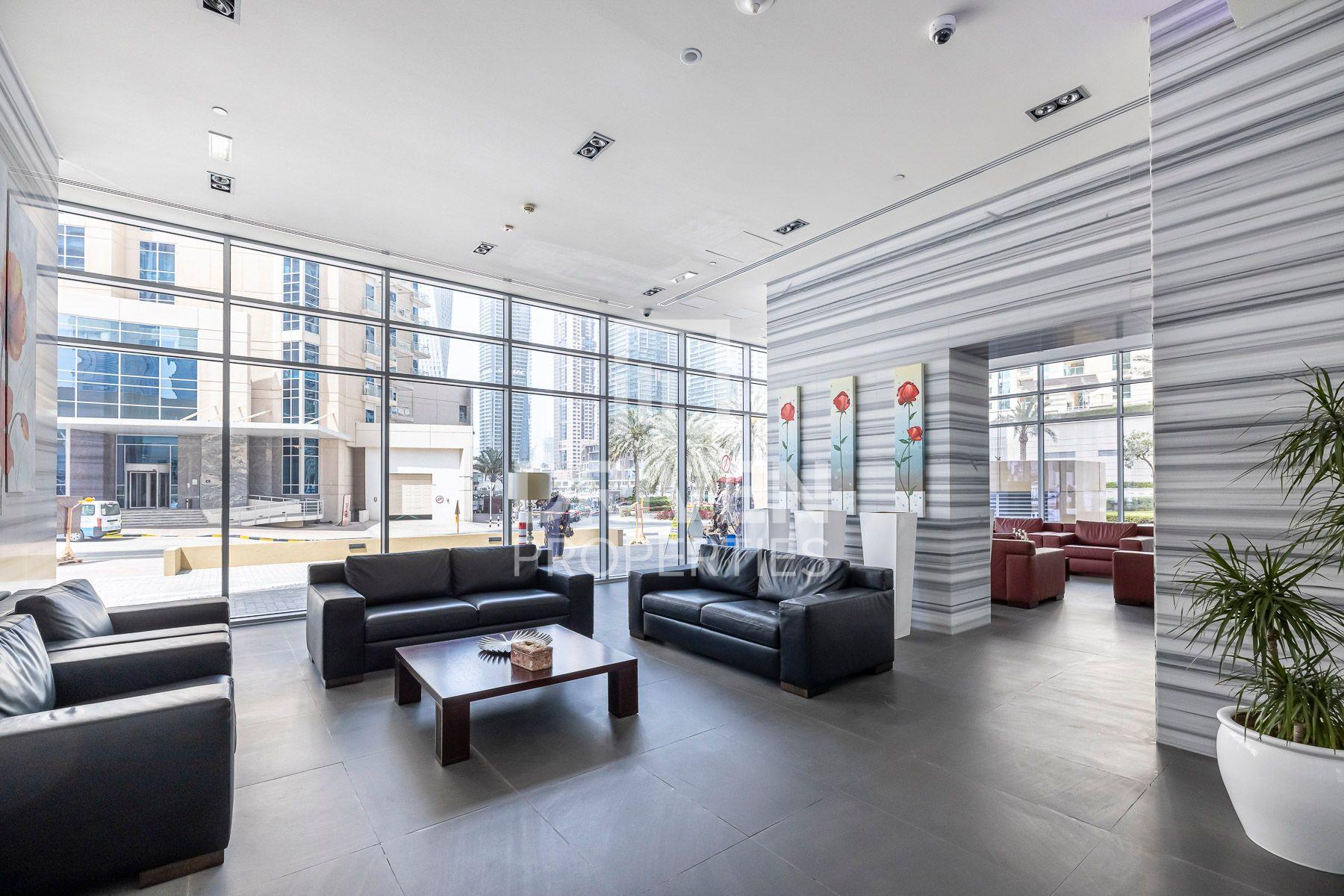 Studio for Rent in Ariyana Tower - Dubai Marina