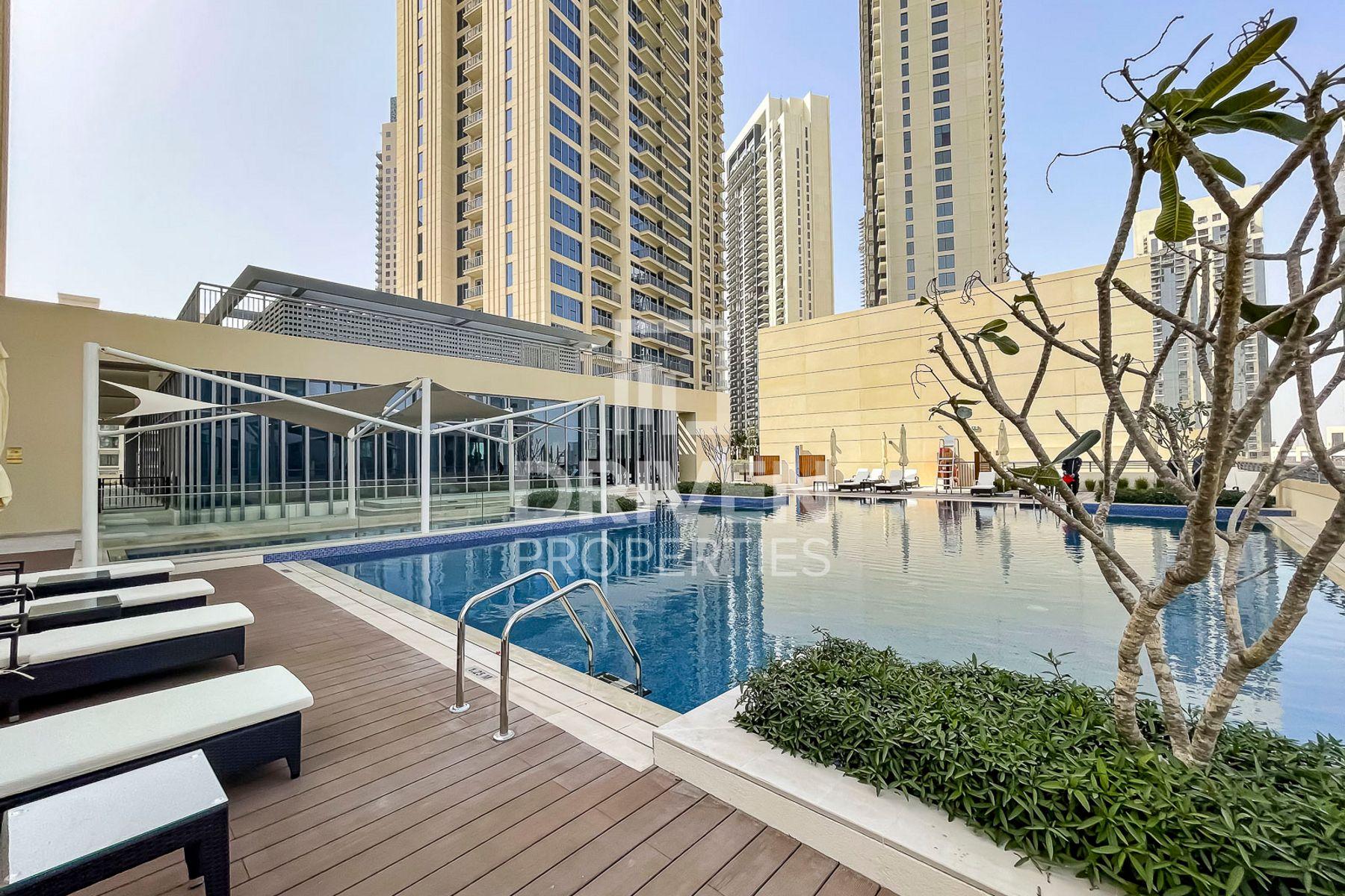 للايجار - شقة - 2 هاربور فيوز - ميناء خور دبي