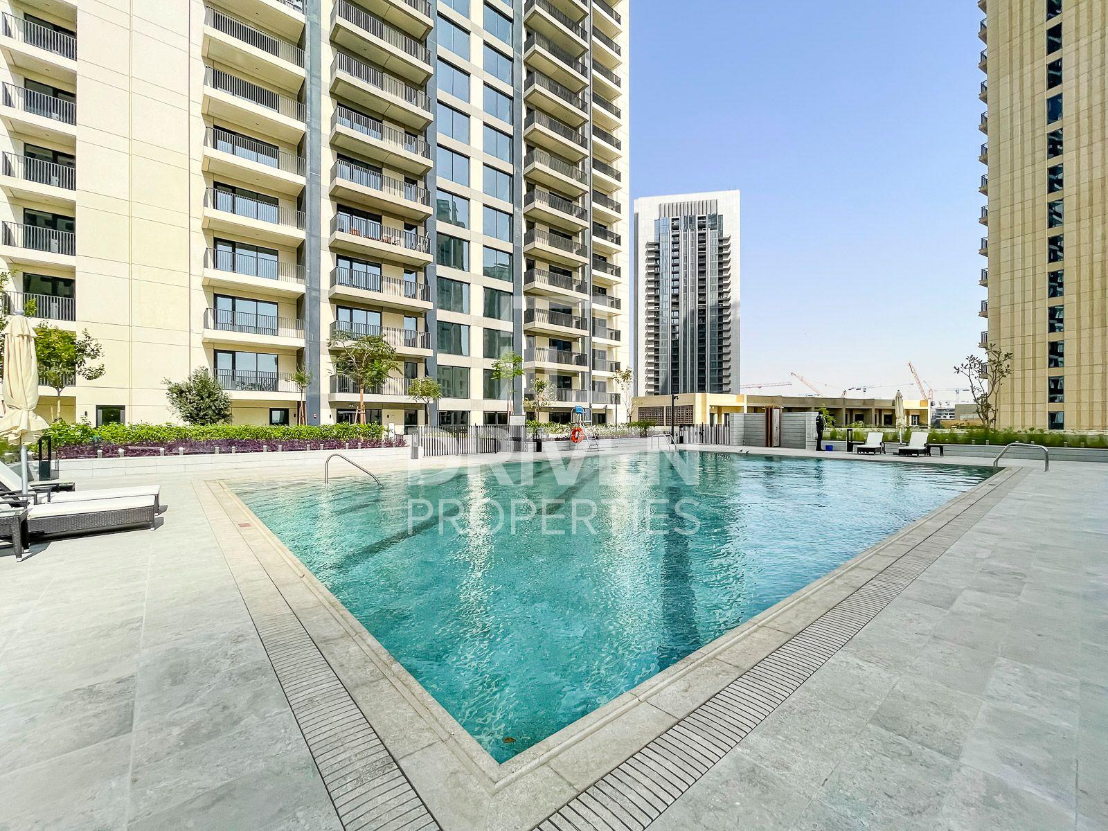 للايجار - شقة - الخور الأفق - ميناء خور دبي