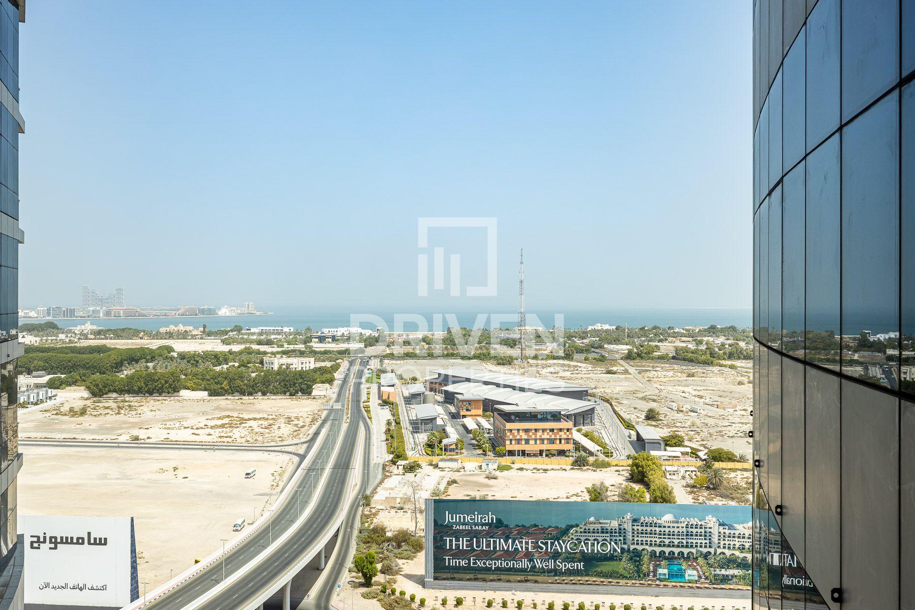 للايجار - مكتب - A برج - شارع الشيخ زايد