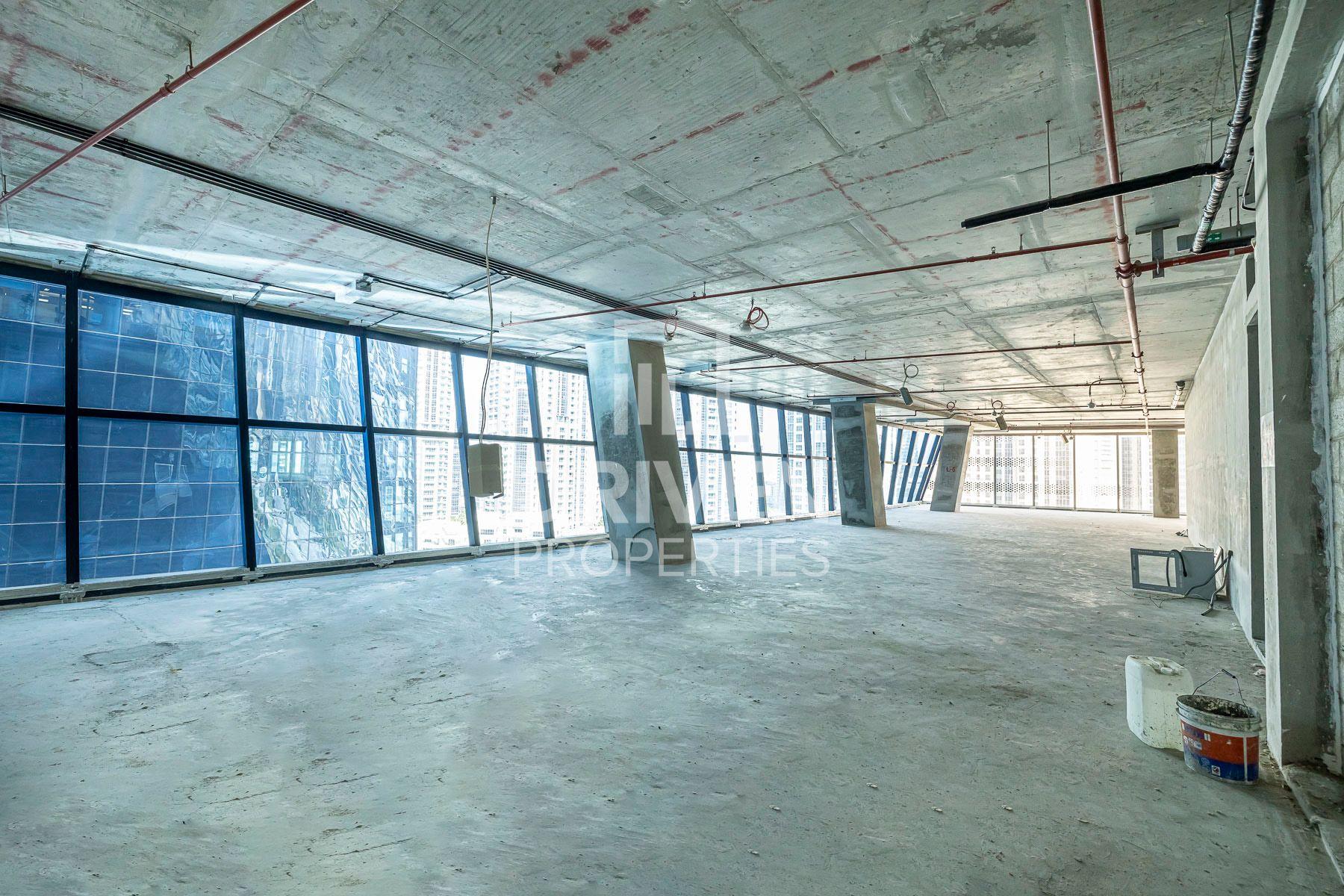 للبيع - مكتب - برج أوبوس - الخليج التجاري
