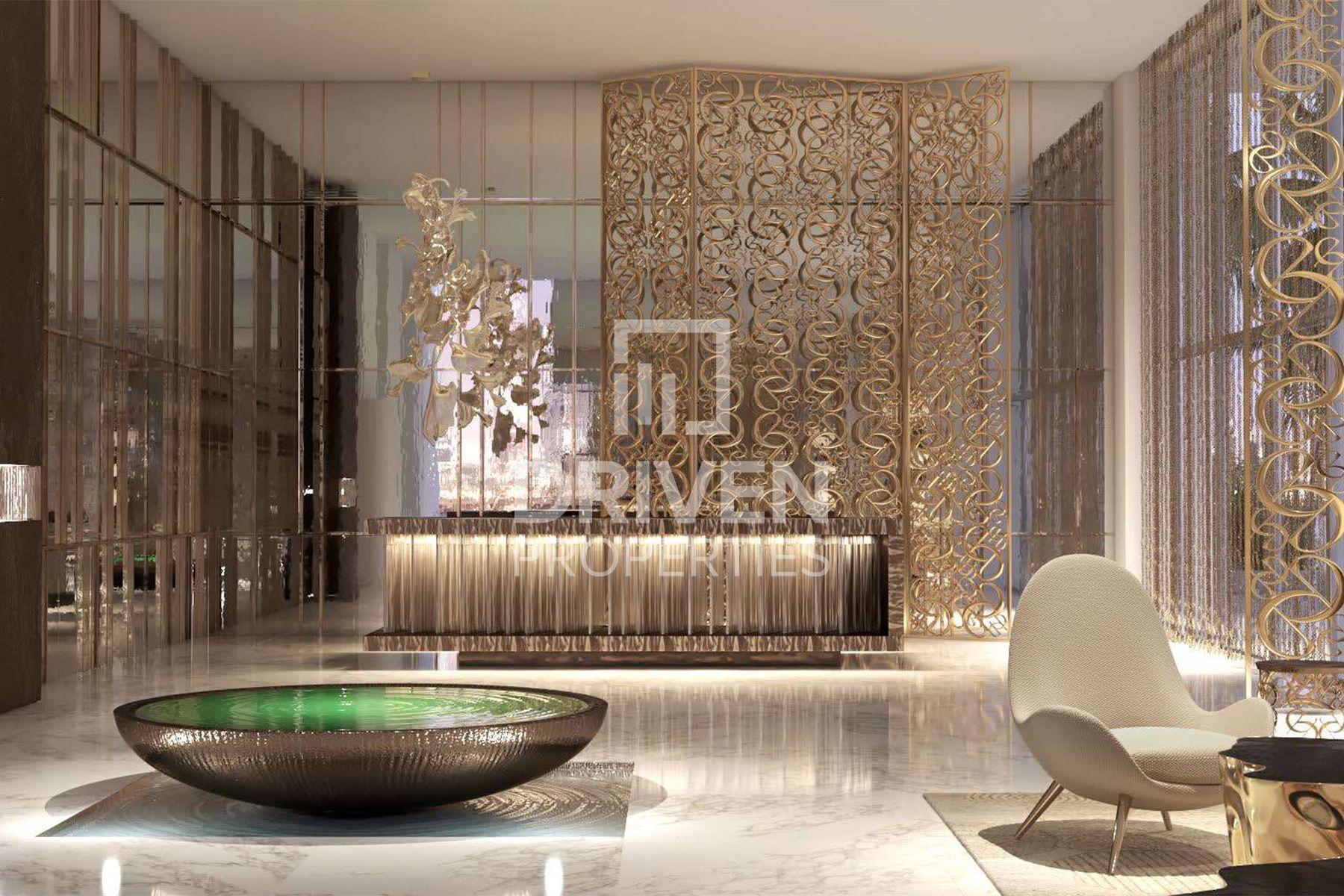 774 قدم مربع  شقة - للبيع - دبي هاربور