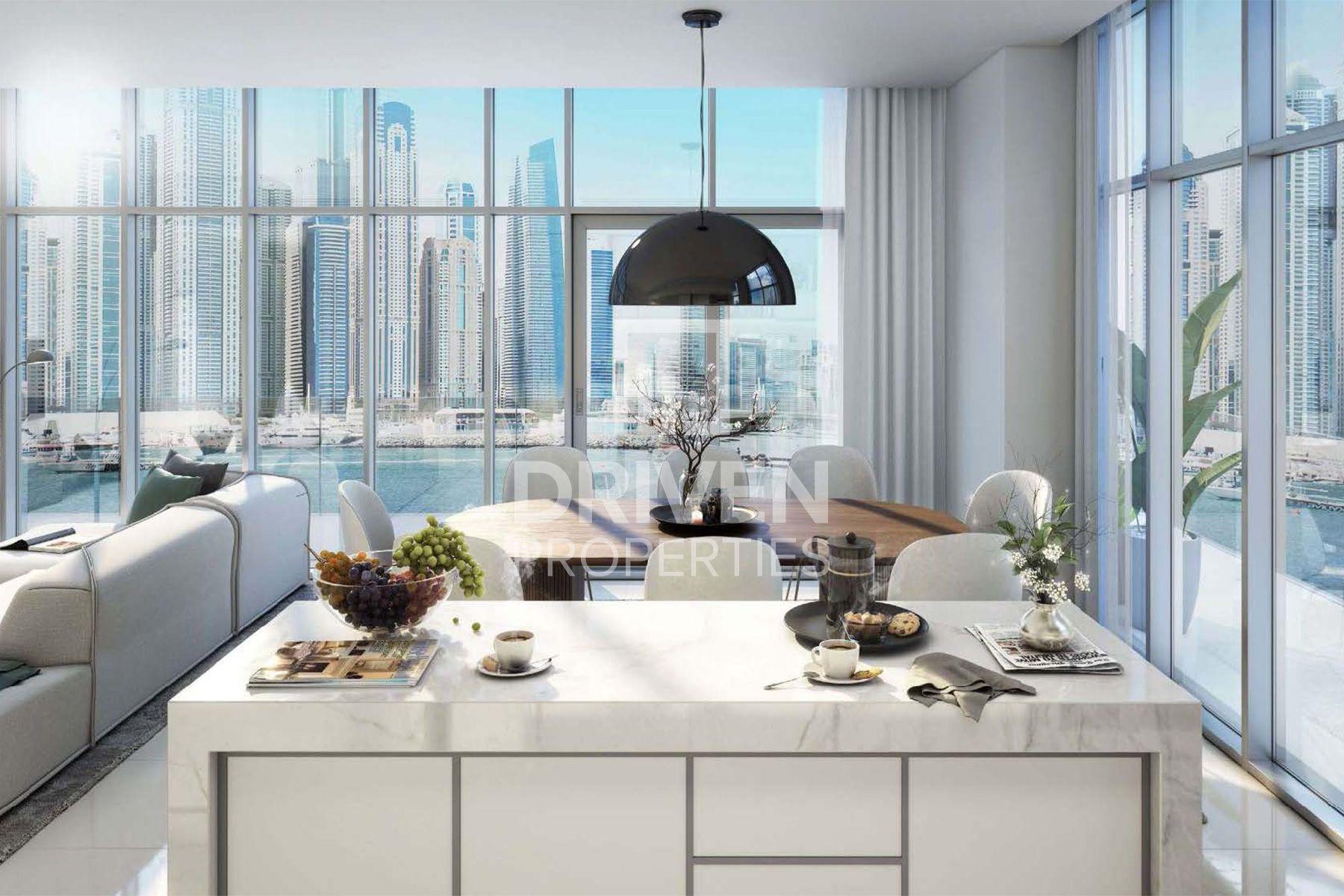 2,093 قدم مربع  شقة - للبيع - دبي هاربور