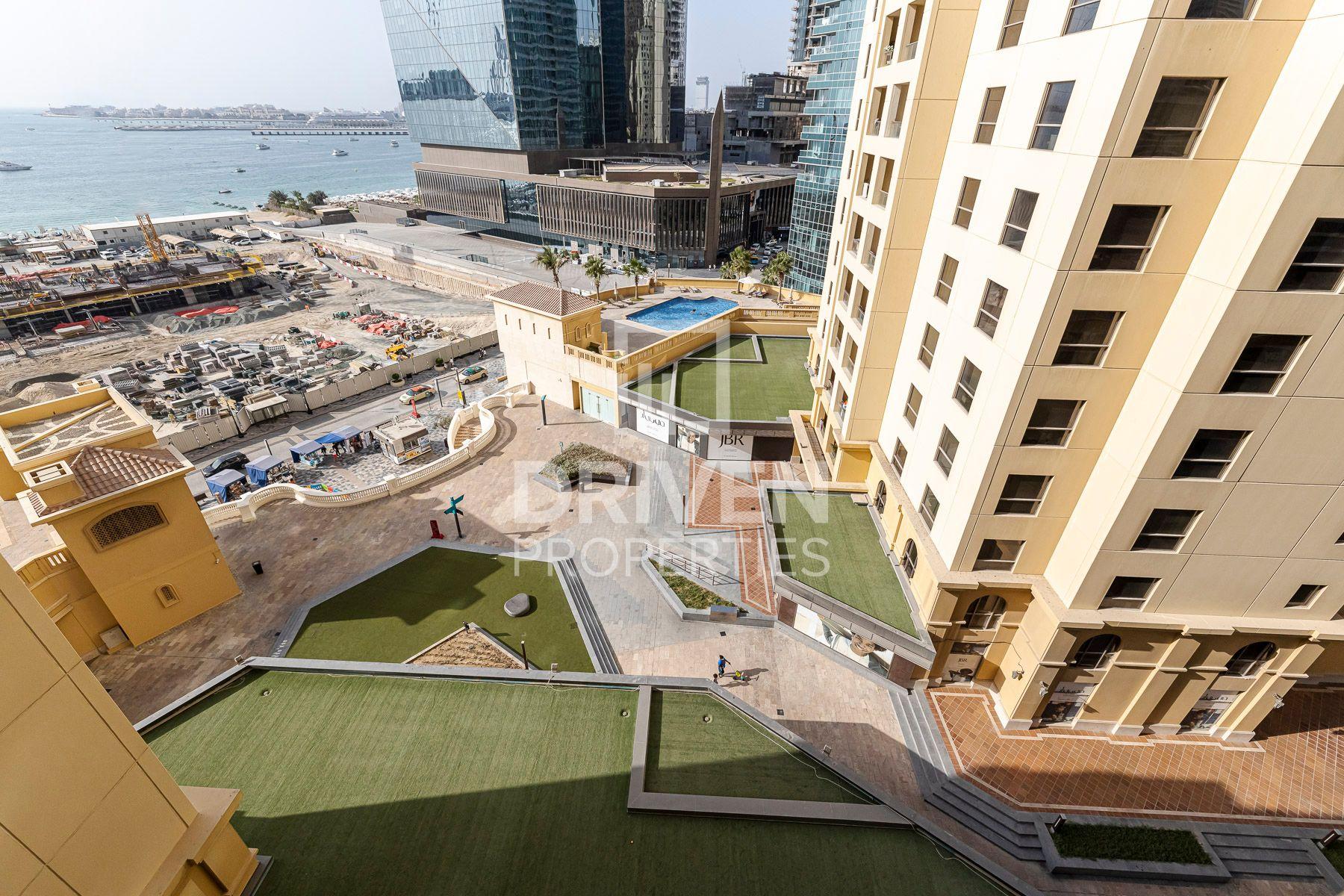 1,267 قدم مربع  شقة - للايجار - مساكن شاطئ الجميرا