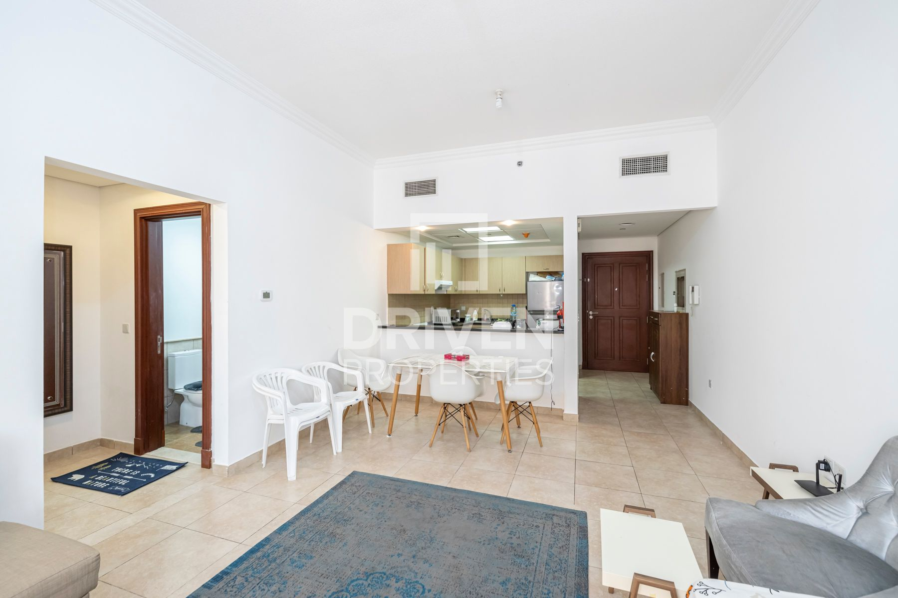 Furnished | Double Balcony | Canal Views
