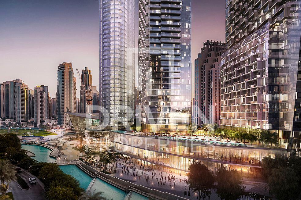 1,067 قدم مربع  شقة - للبيع - دبي وسط المدينة