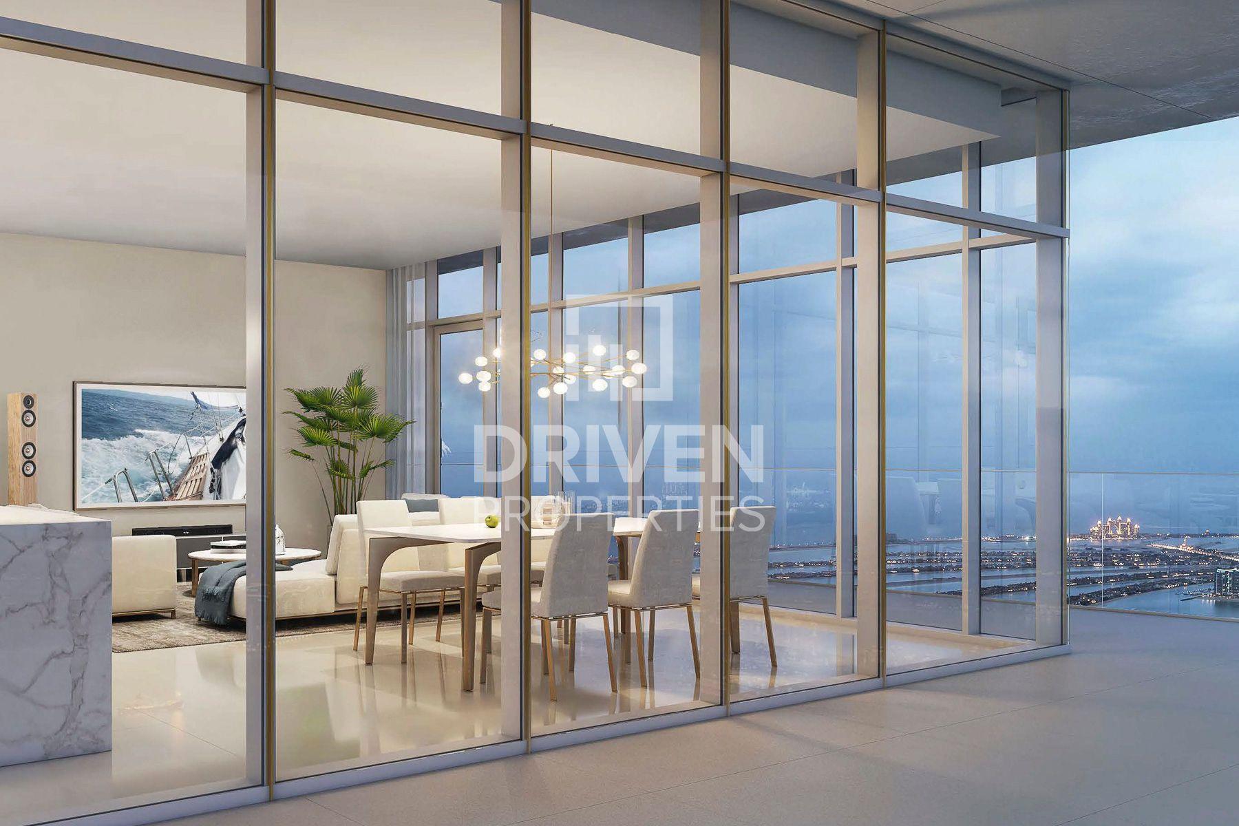 1,979 قدم مربع  شقة - للبيع - دبي هاربور