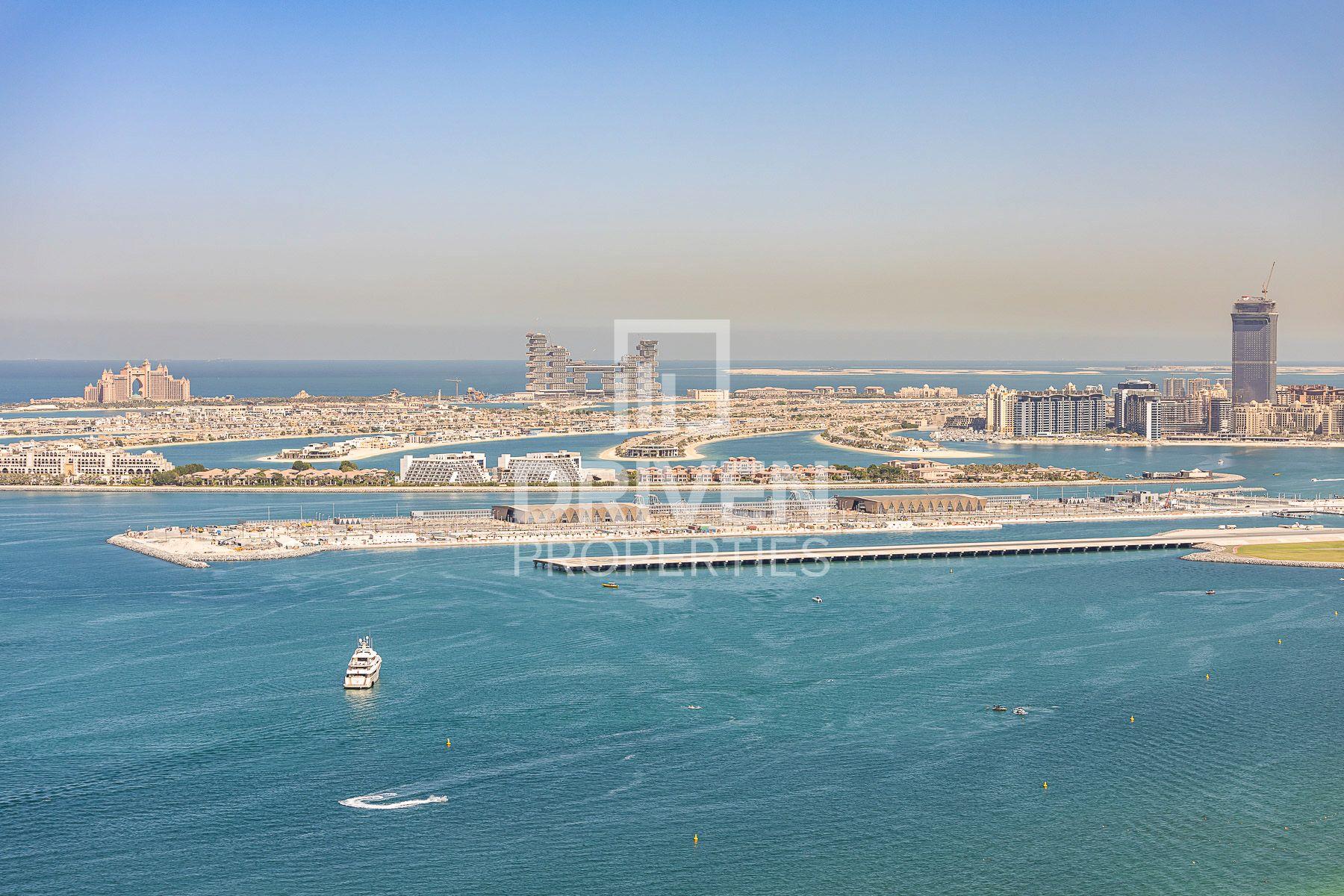1,323 قدم مربع  شقة - للايجار - مساكن شاطئ الجميرا