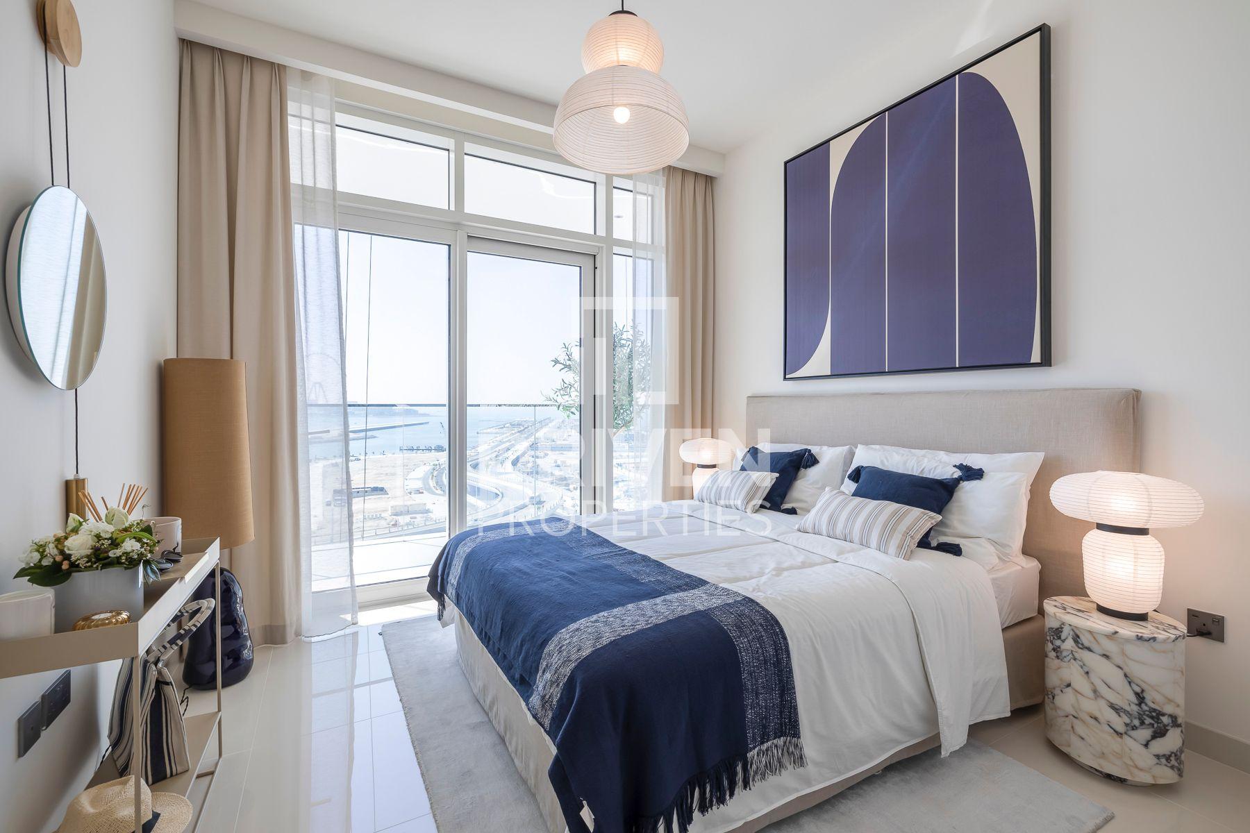 1,264 قدم مربع  شقة - للبيع - دبي هاربور