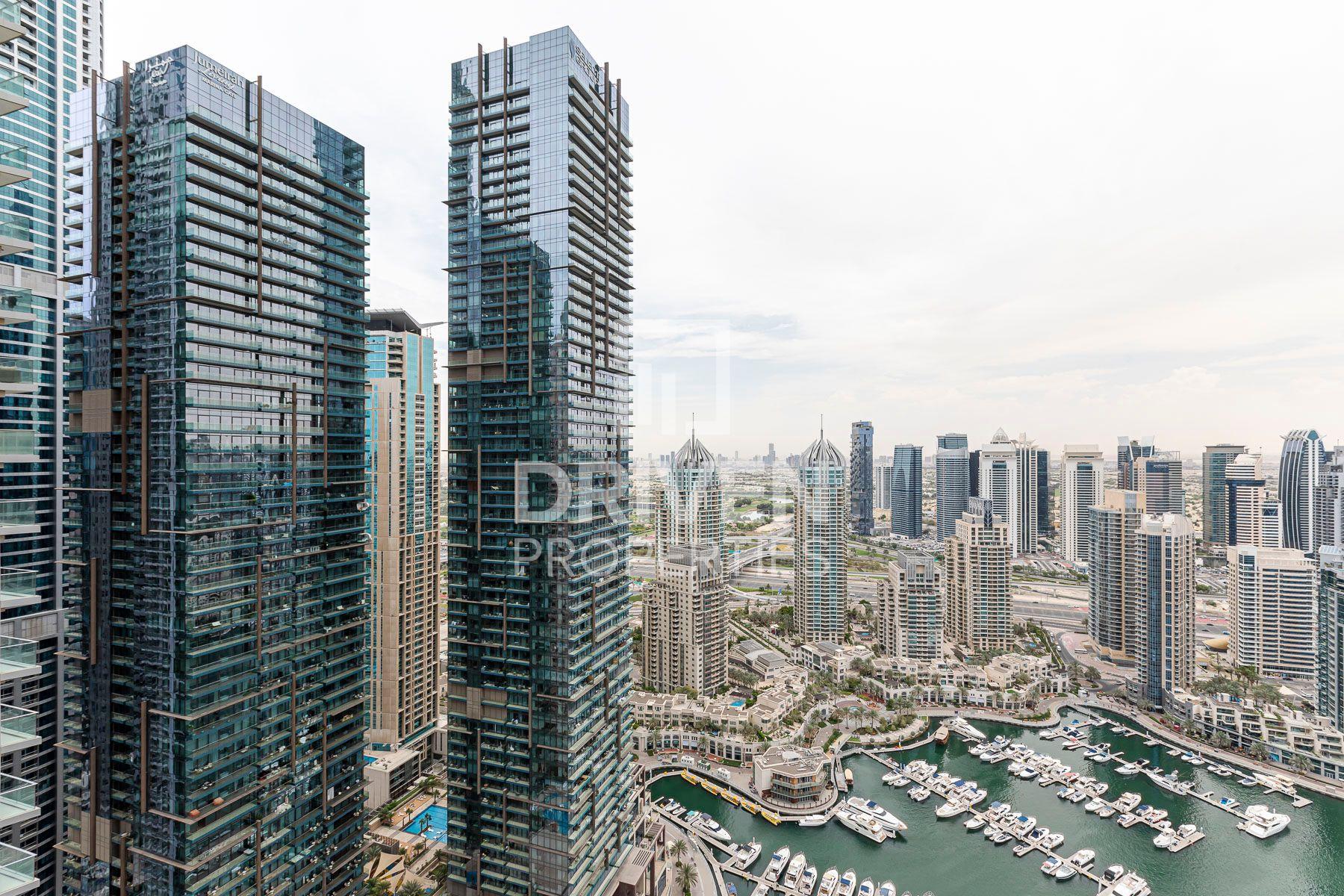 Semi Furnished | Breathtaking Marina View