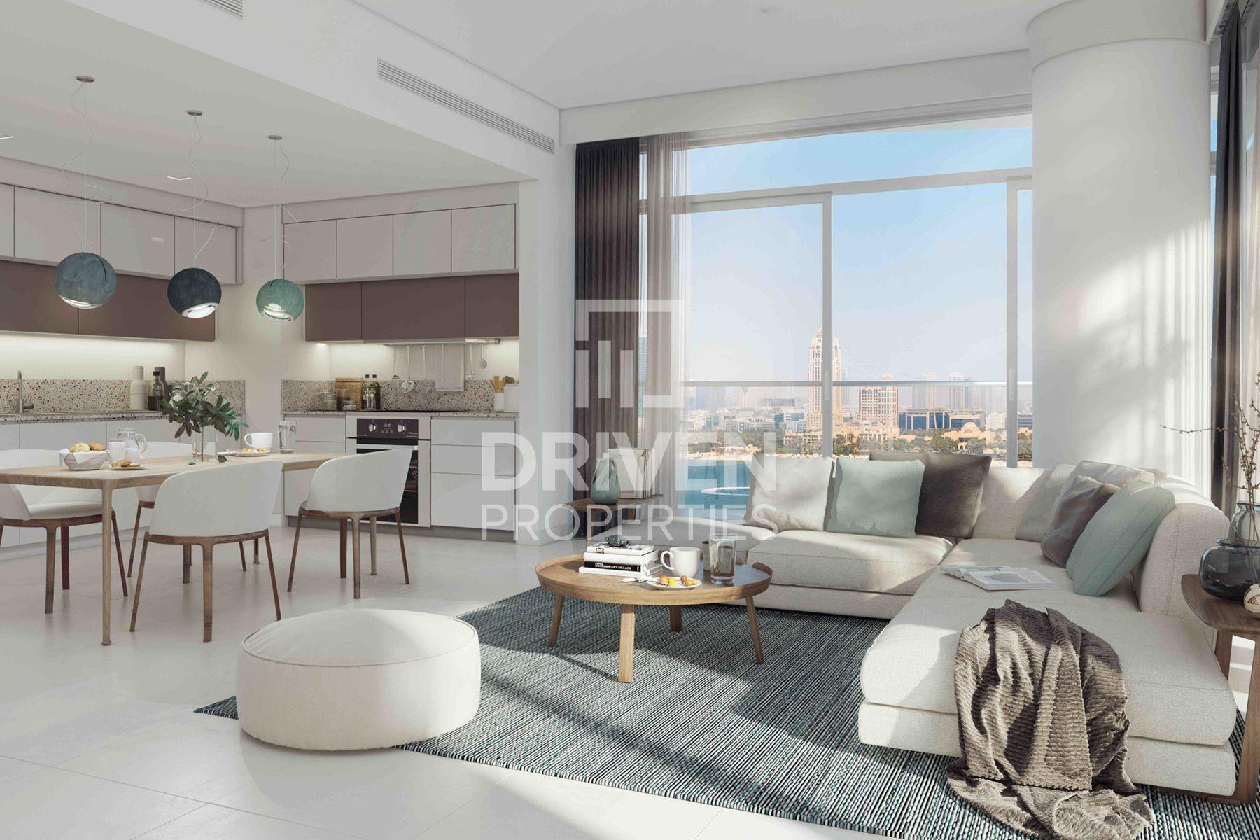 746 قدم مربع  شقة - للبيع - دبي هاربور