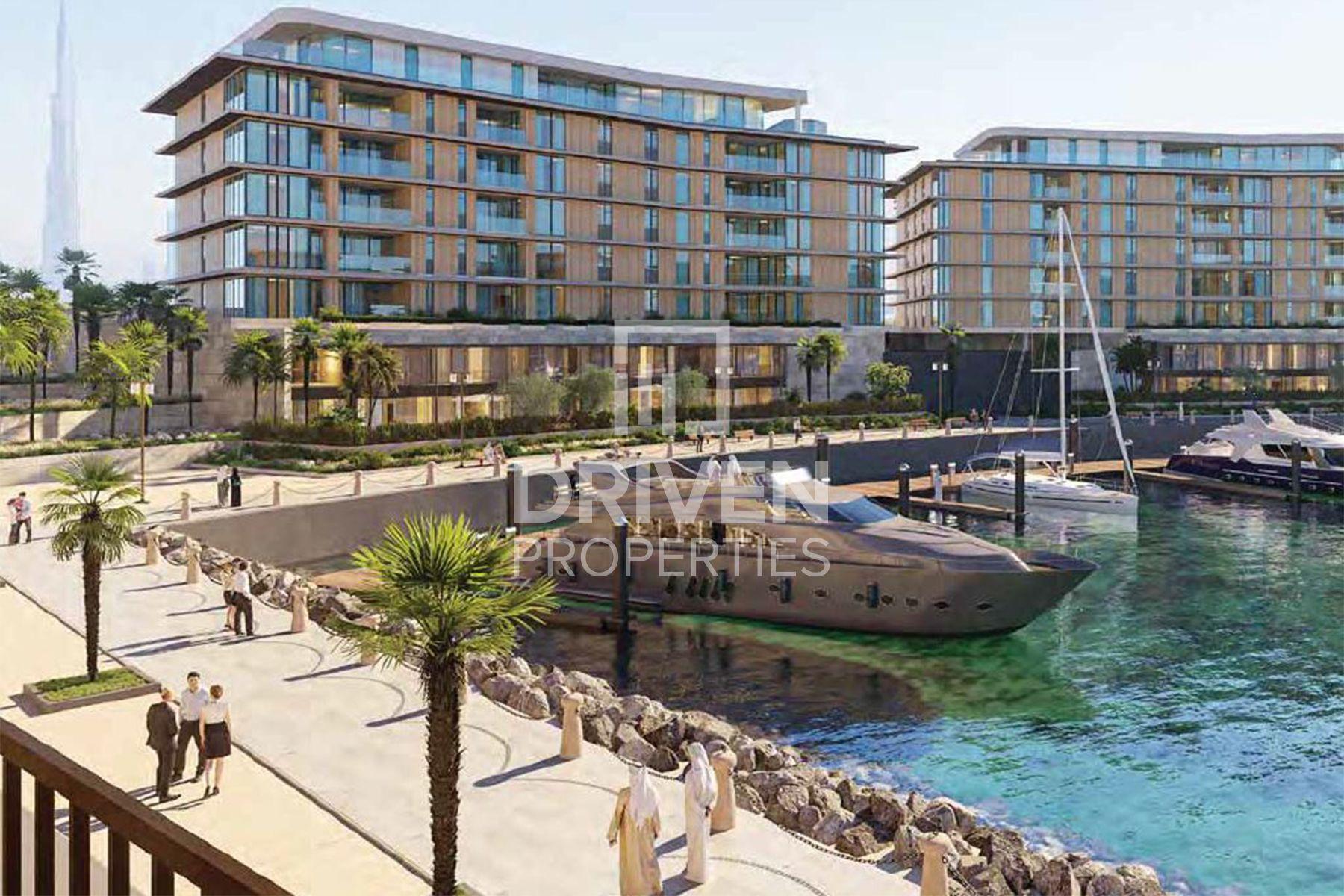 Luxurious Duplex in Bulgari Marina Lofts